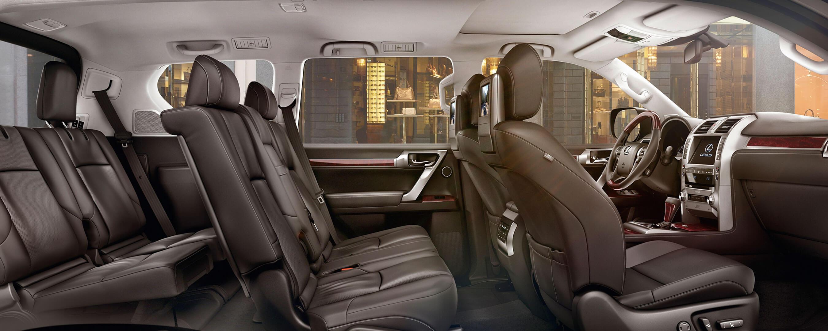 2017 lexus gx 460 experience hero interior back