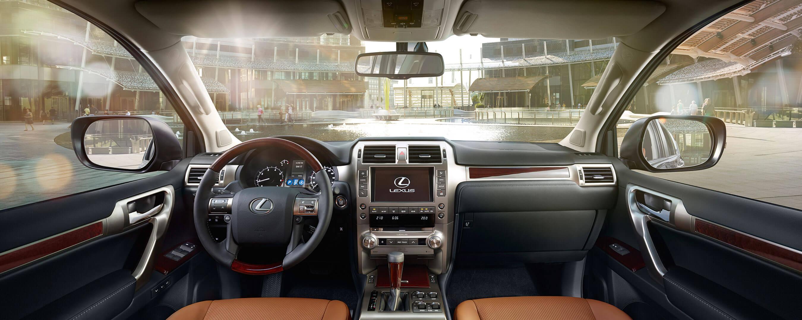 2017 lexus gx 460 experience hero interior front