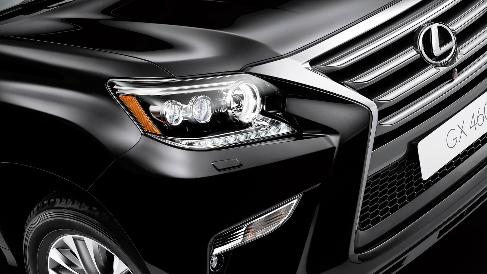 2017 lexus gx 460 features led headlight
