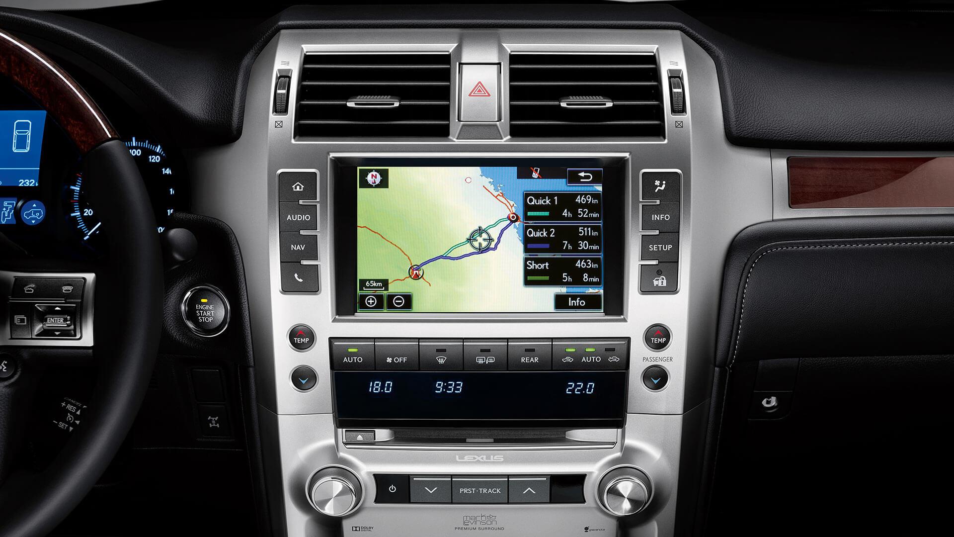 2017 lexus gx 460 features navigation