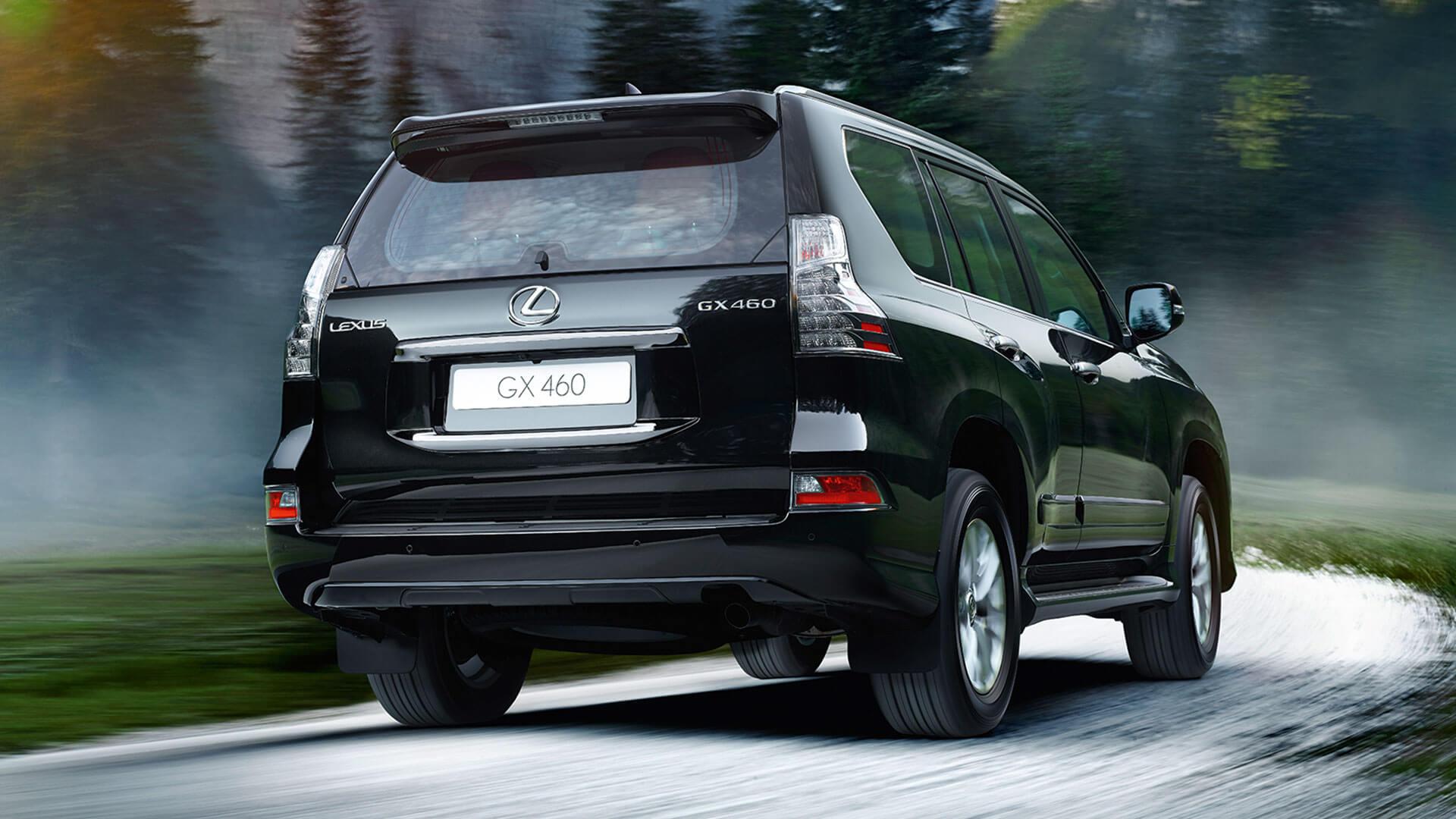 2017 lexus gx 460 features rear glass hatch