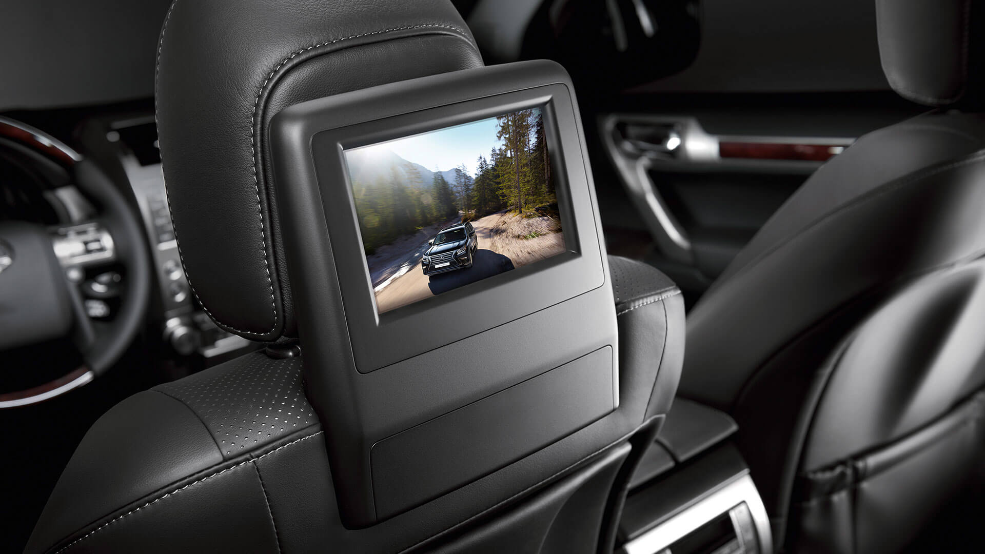 2017 lexus gx 460 features rear seat entertainment