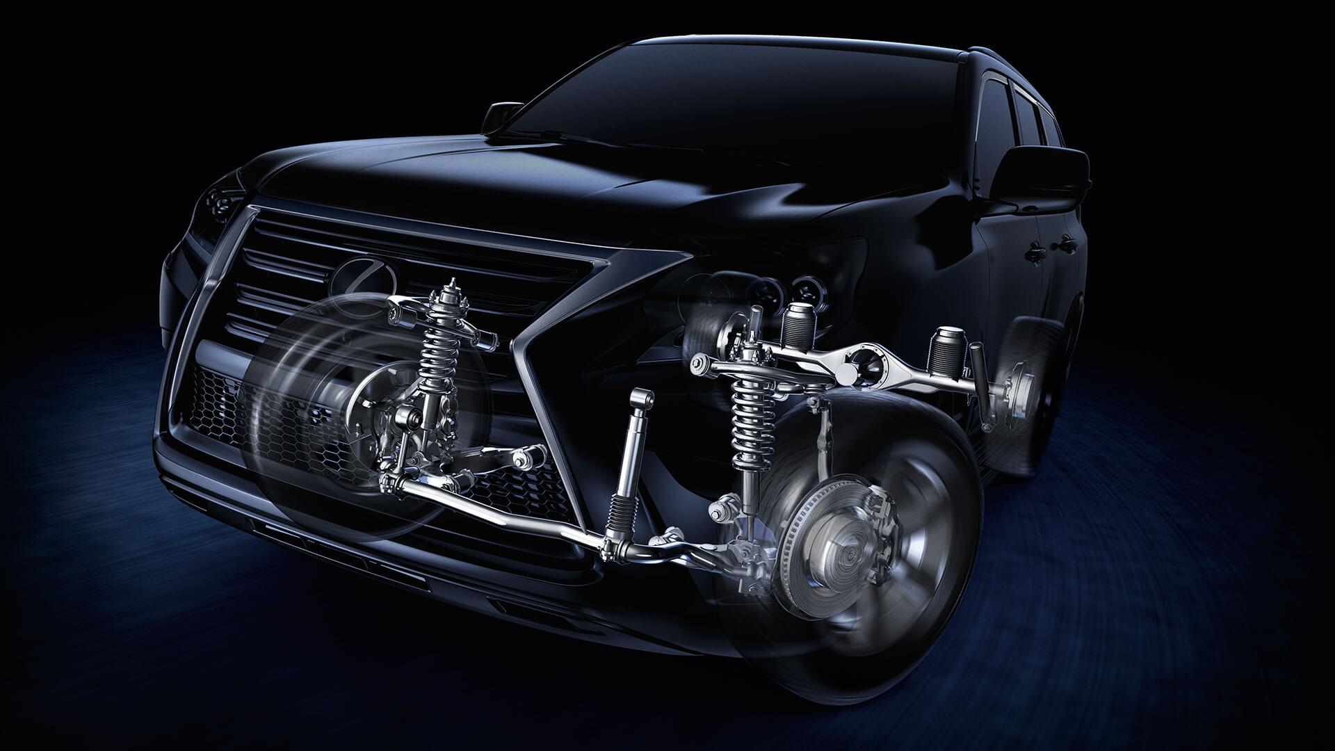 2017 lexus gx 460 features suspension