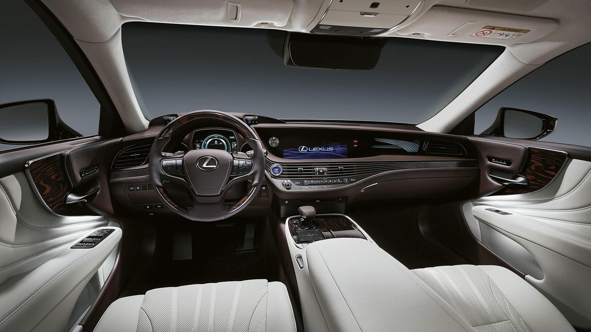2018 lexus ls features driver focused cockpit