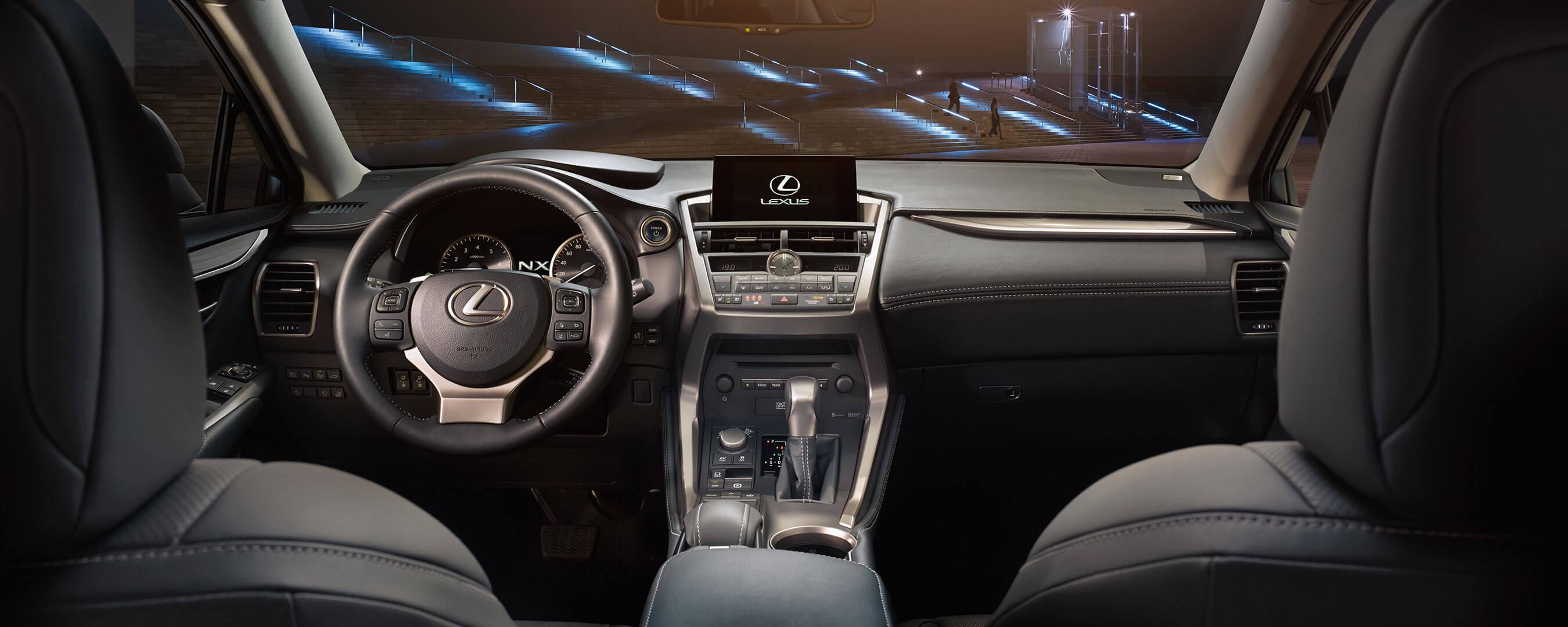 2017 lexus nx 300h experience hero interior front