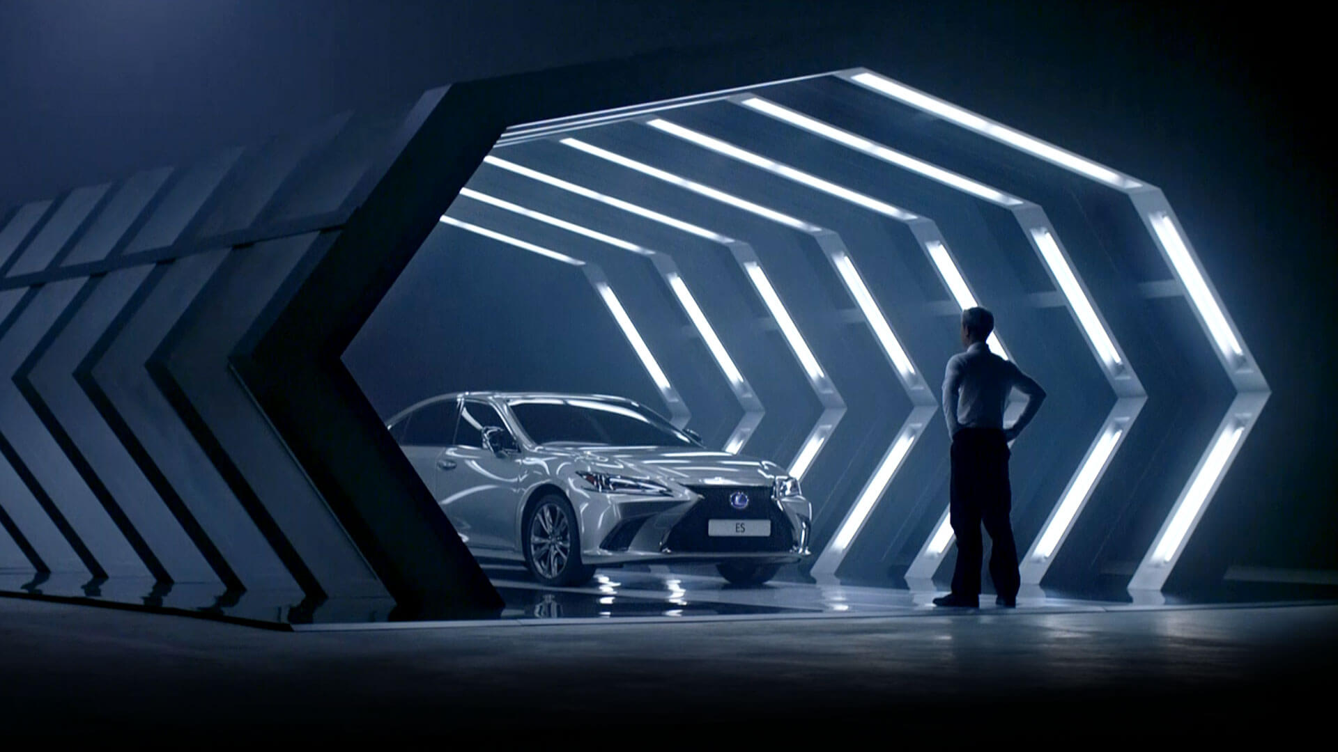 2019 lexus es driven by intuition hero tvc video cover