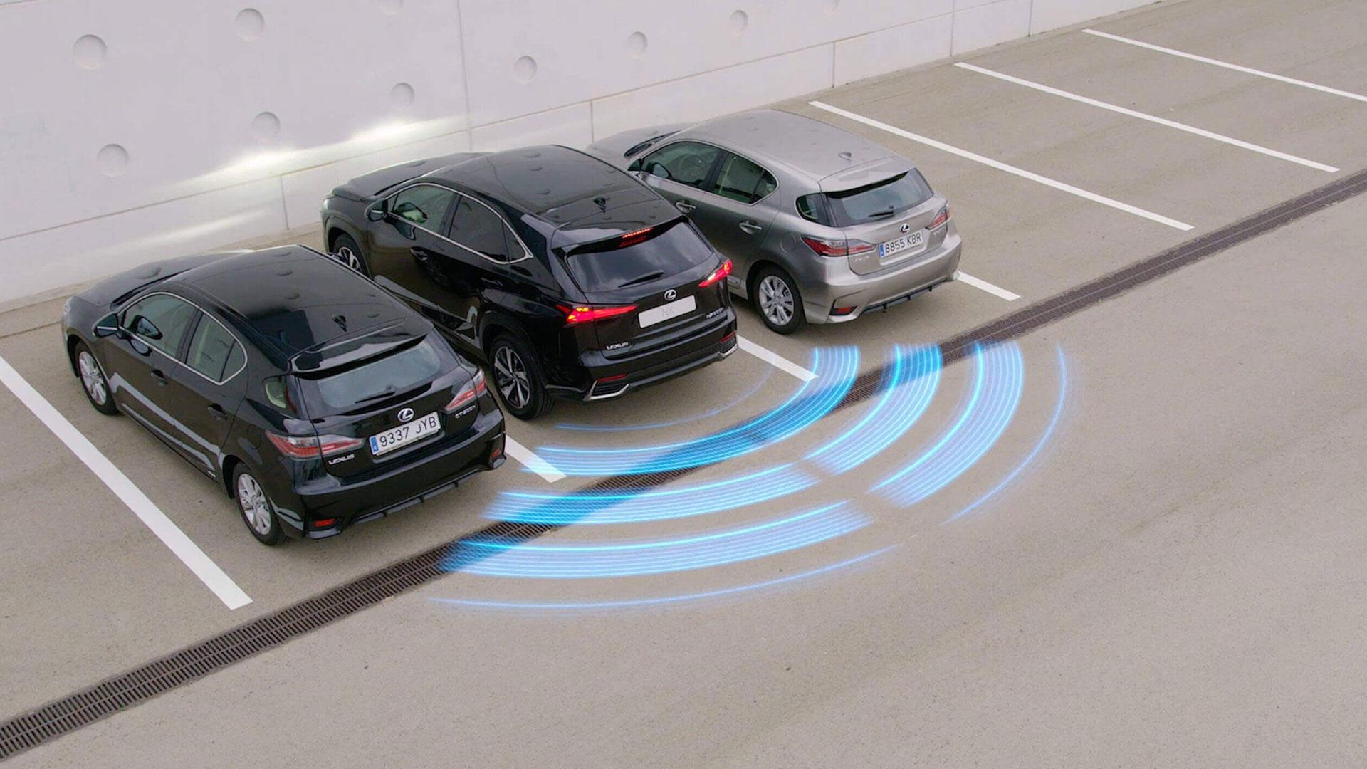 5 Lexus safety system image