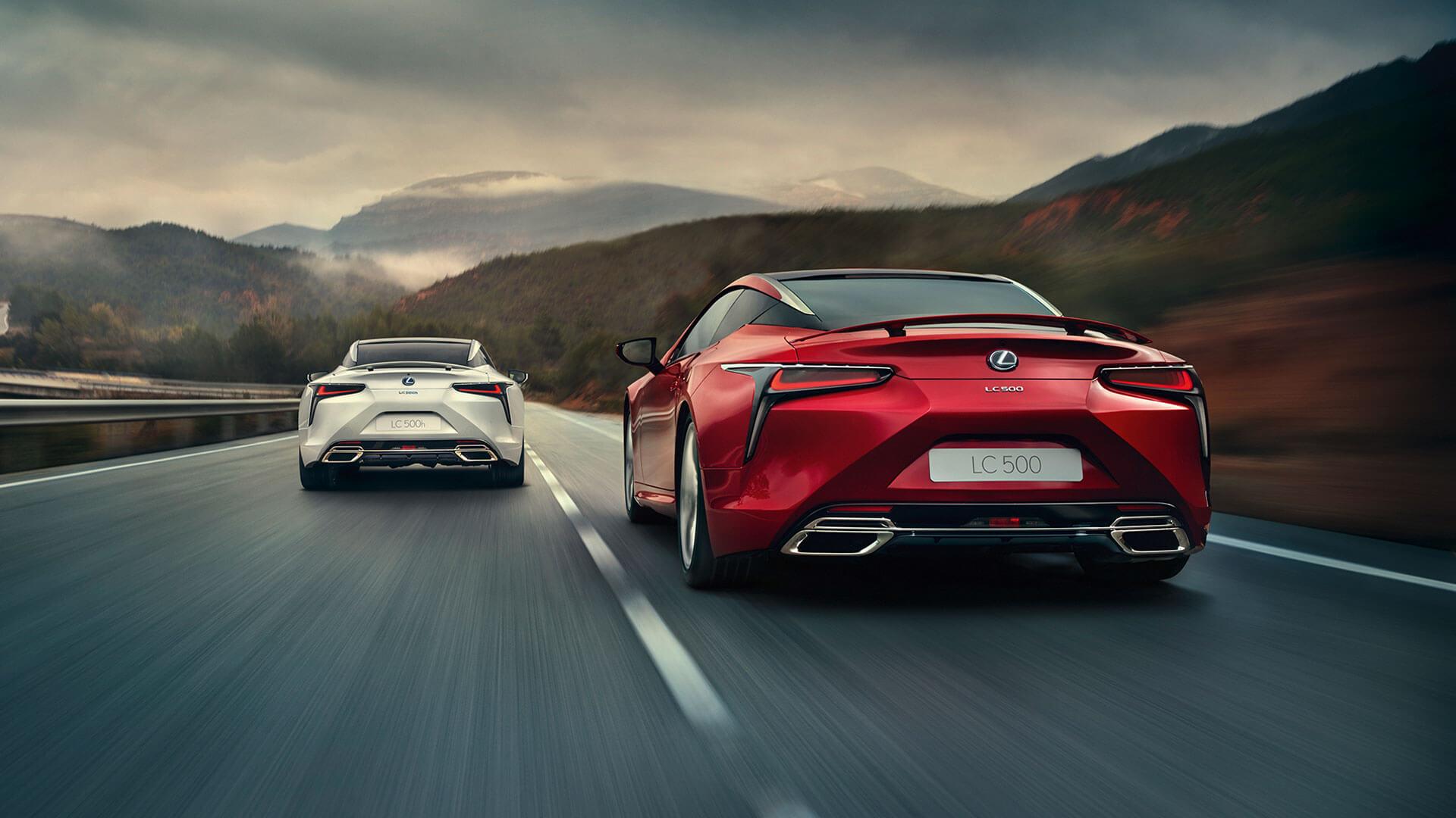Lexus LC Луксозно Спортно Купе | Lexus Europe