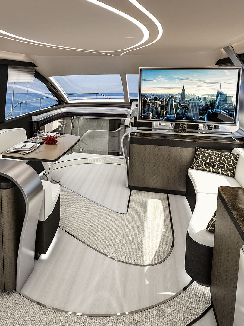 2019 lexus ly 650 luxury yacht portrait