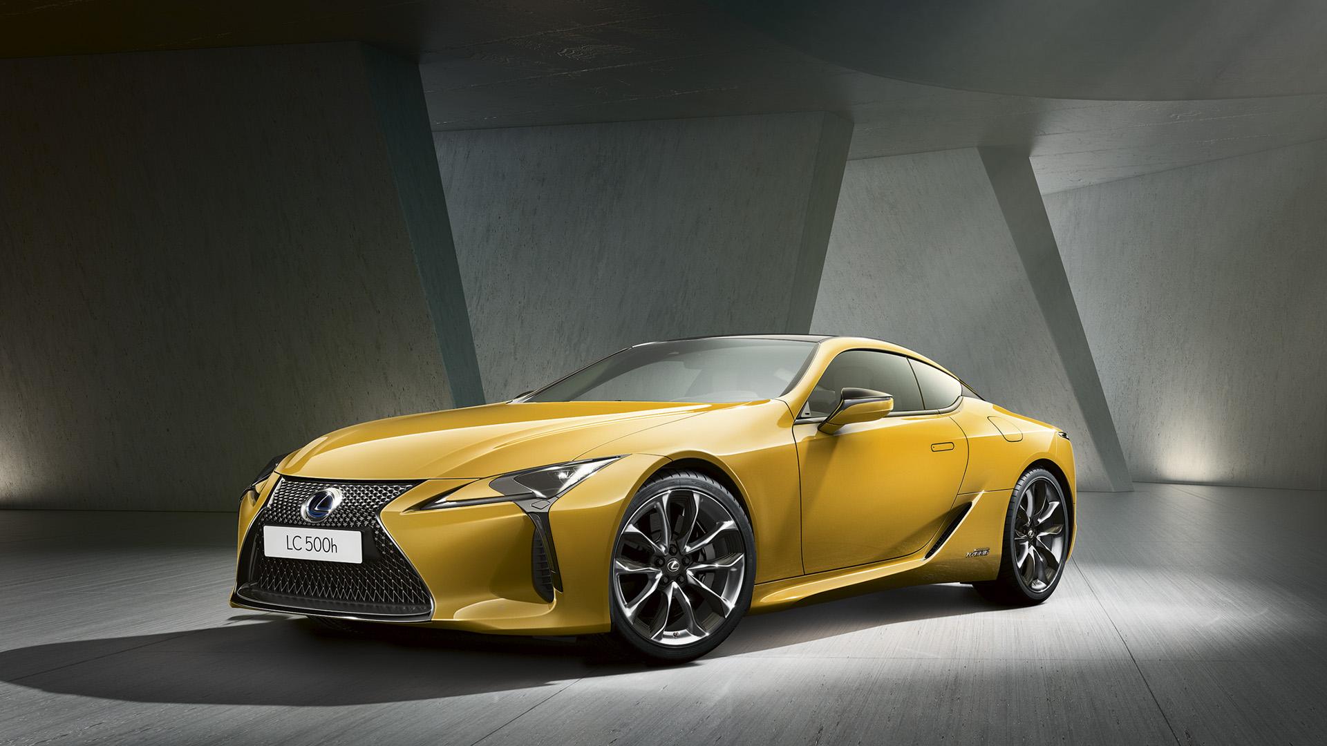 Lexus LC Yellow Edition hero