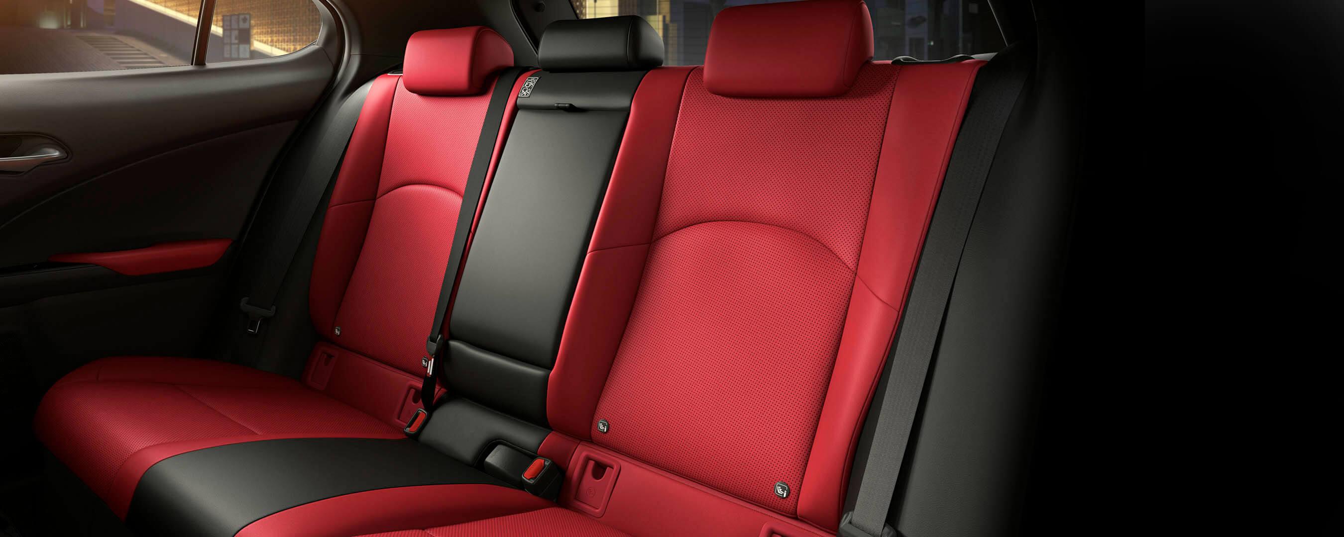 2018 lexus ux experience interior rear