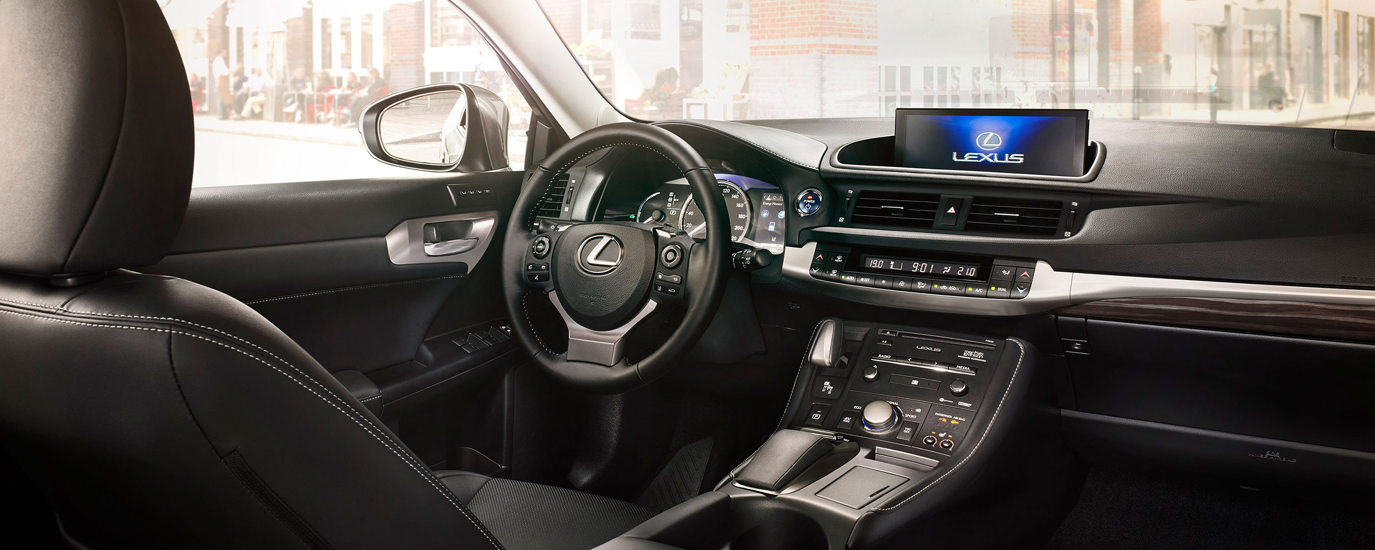 2018 lexus ct 200h my18 experience hero interior front
