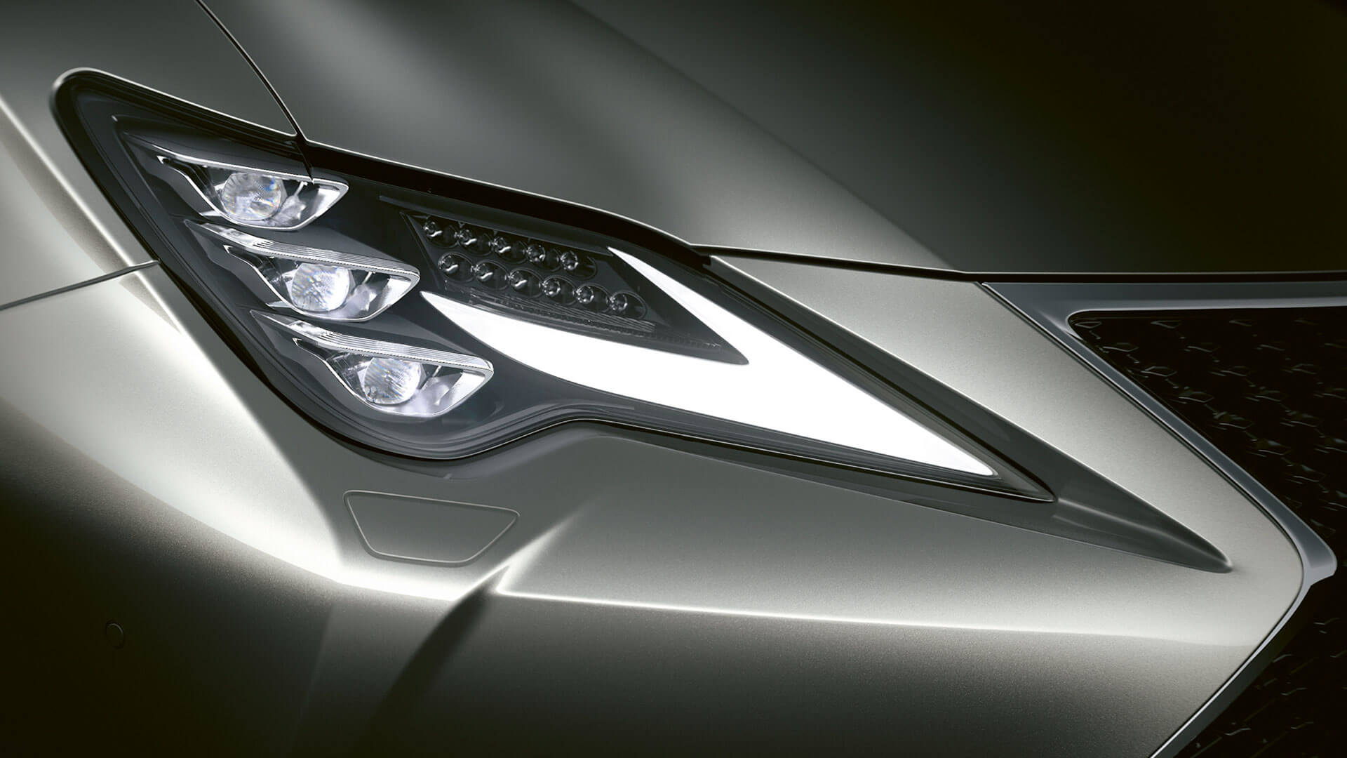 2018 lexus rc hotspot triple led beams