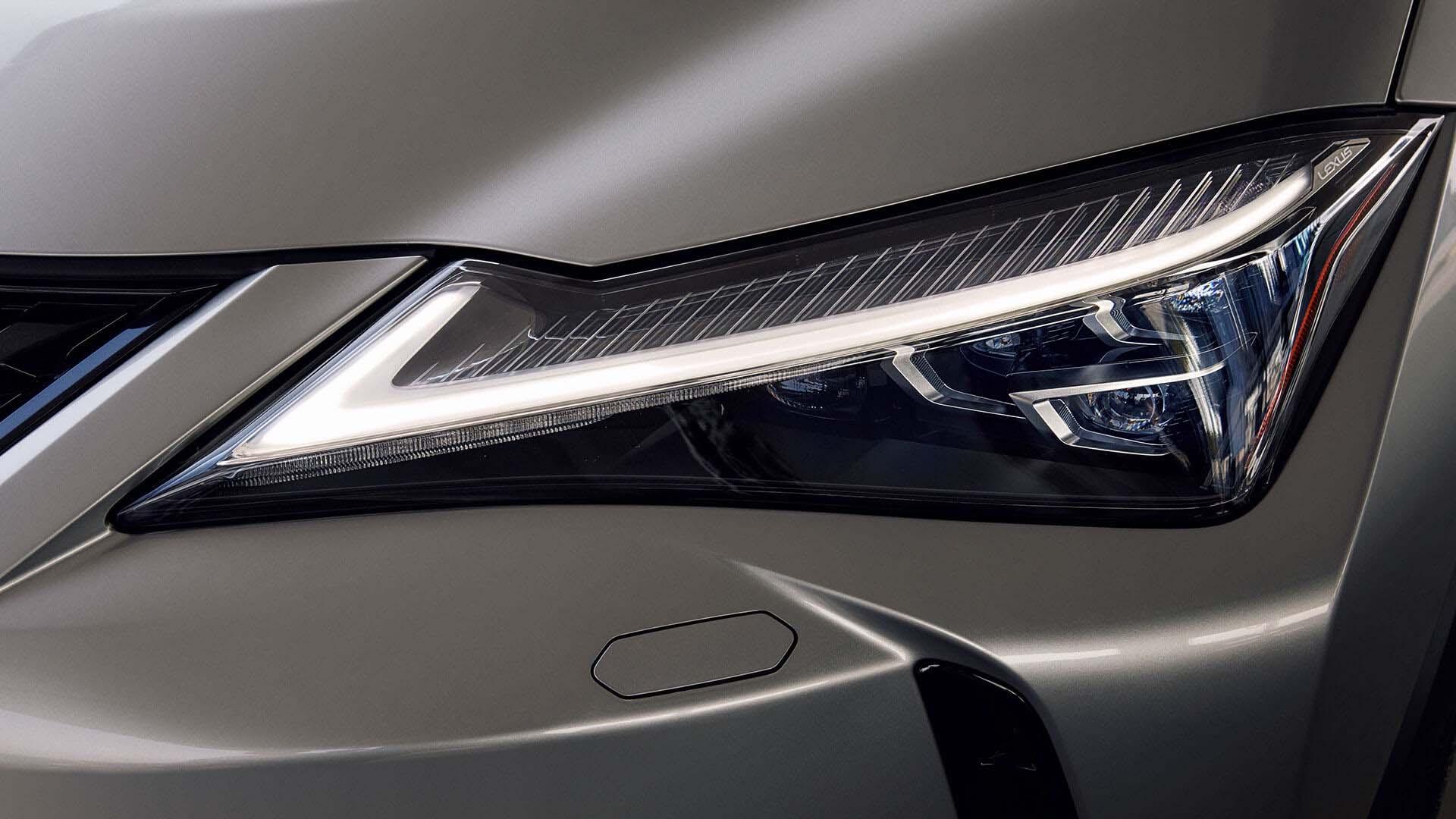 2018 lexus ux eu experience triple led headlights