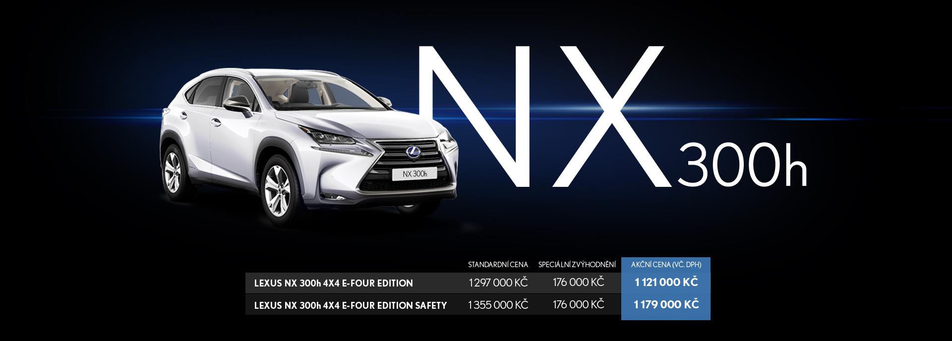 NX 300h Banner Image