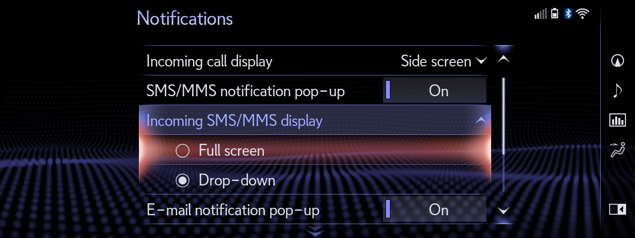 05 Full Screen SMS