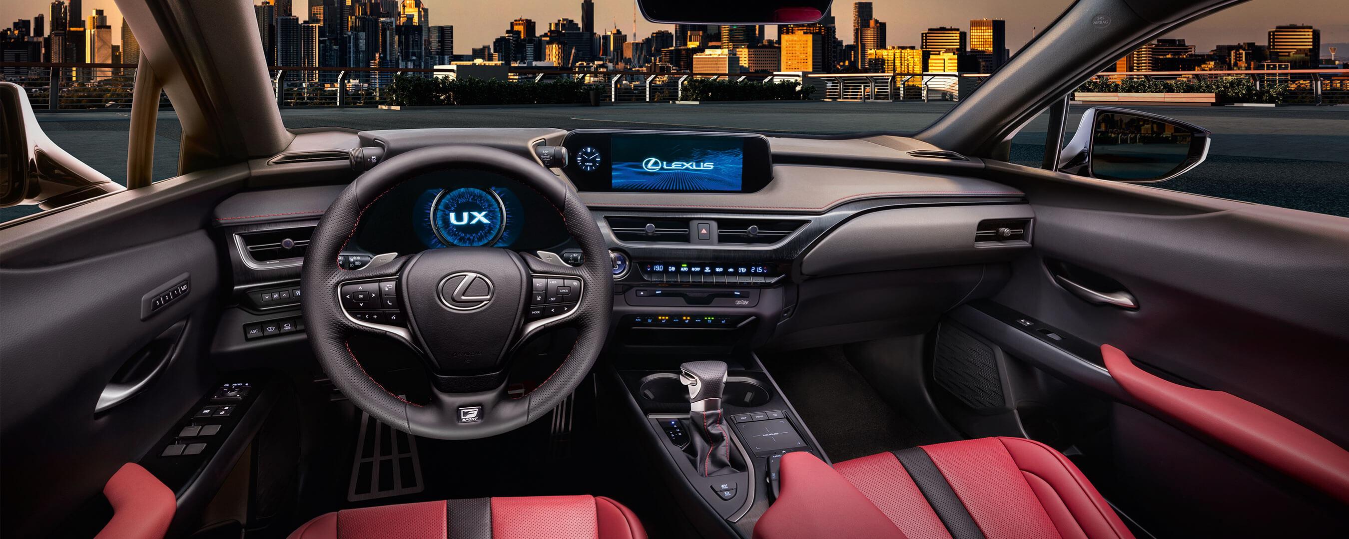 Resultado de imagen de lexus ux 250h interior