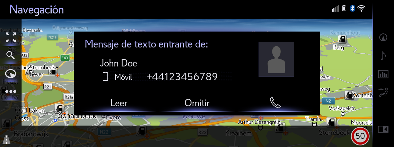 06 Full Screen SMS