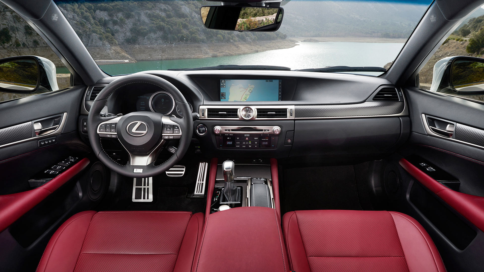 tecnología Lexus TouchTM hero asset