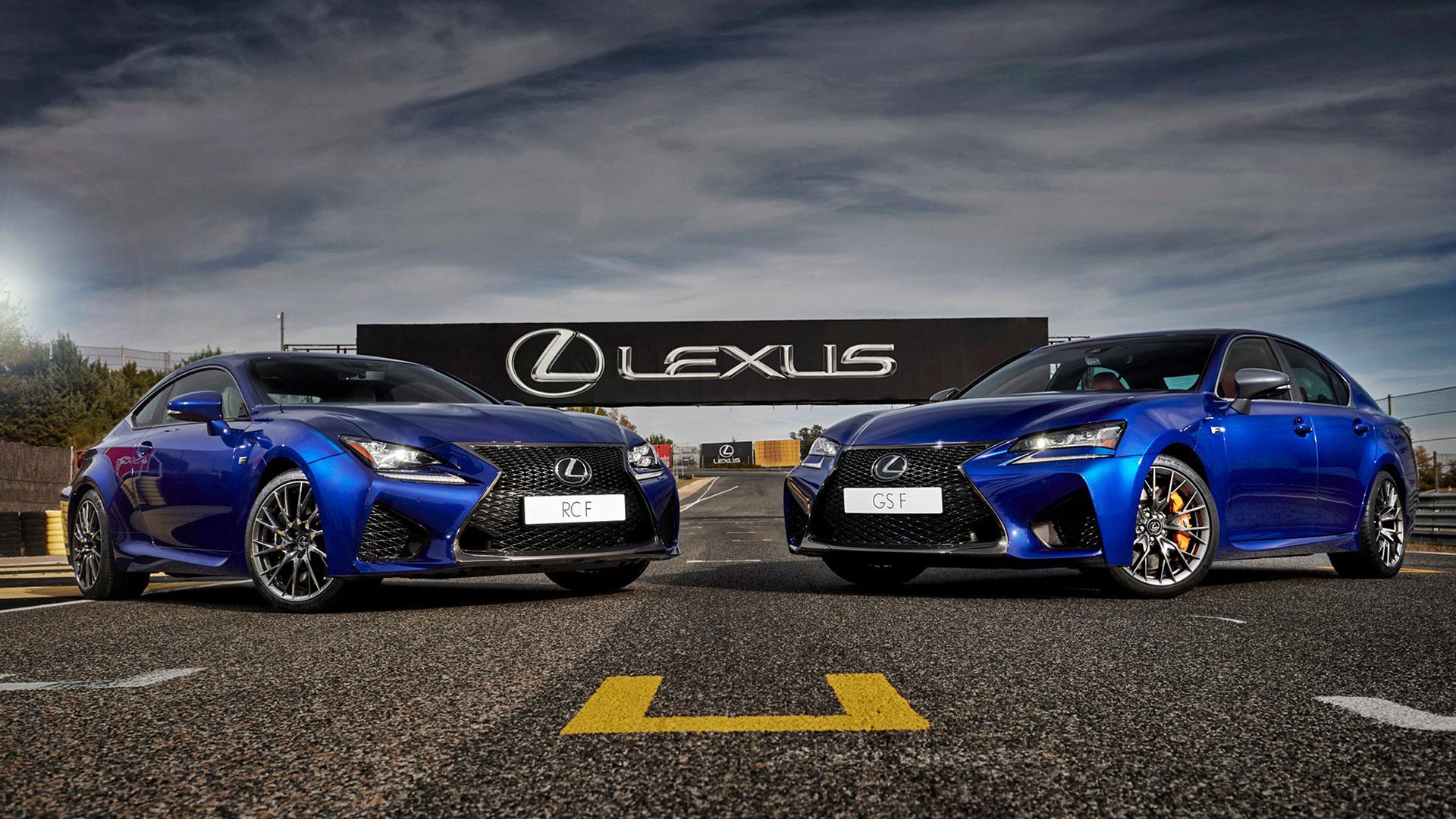 Jornadas de conducción Lexus F Experience hero asset