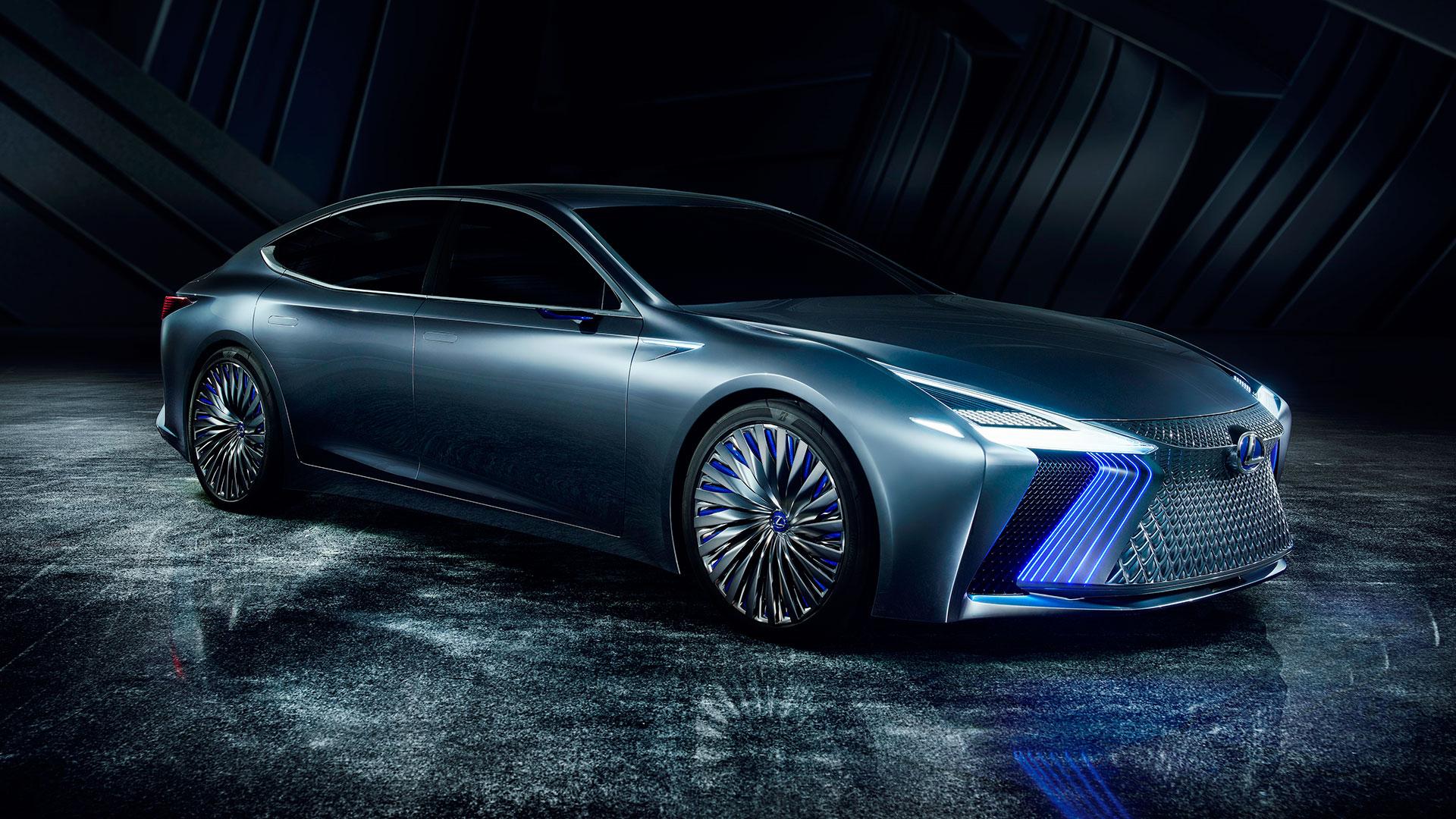 Lexus presenta el LS Concept hero asset