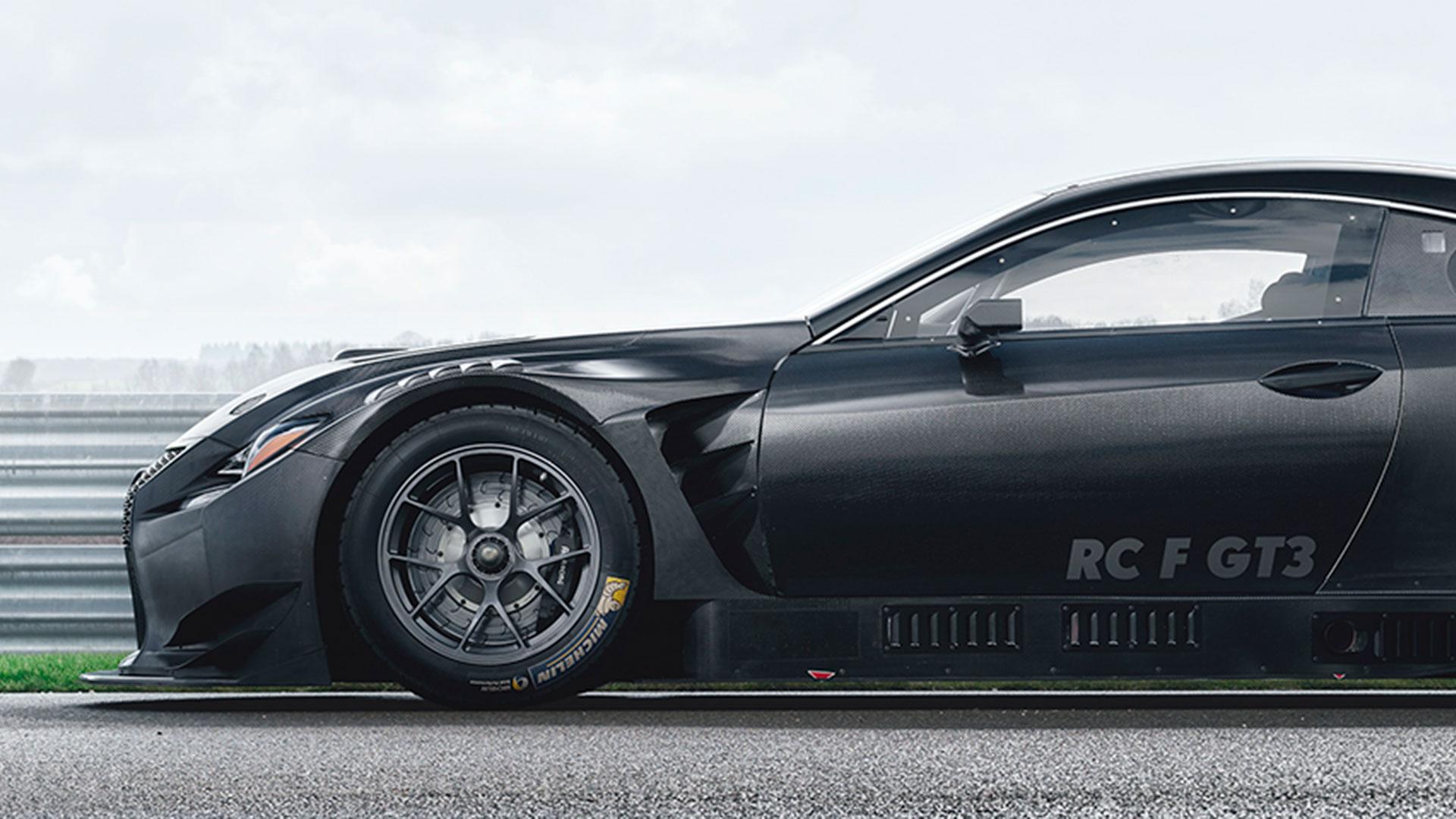Lexus RC F GT3 2017 hero asset