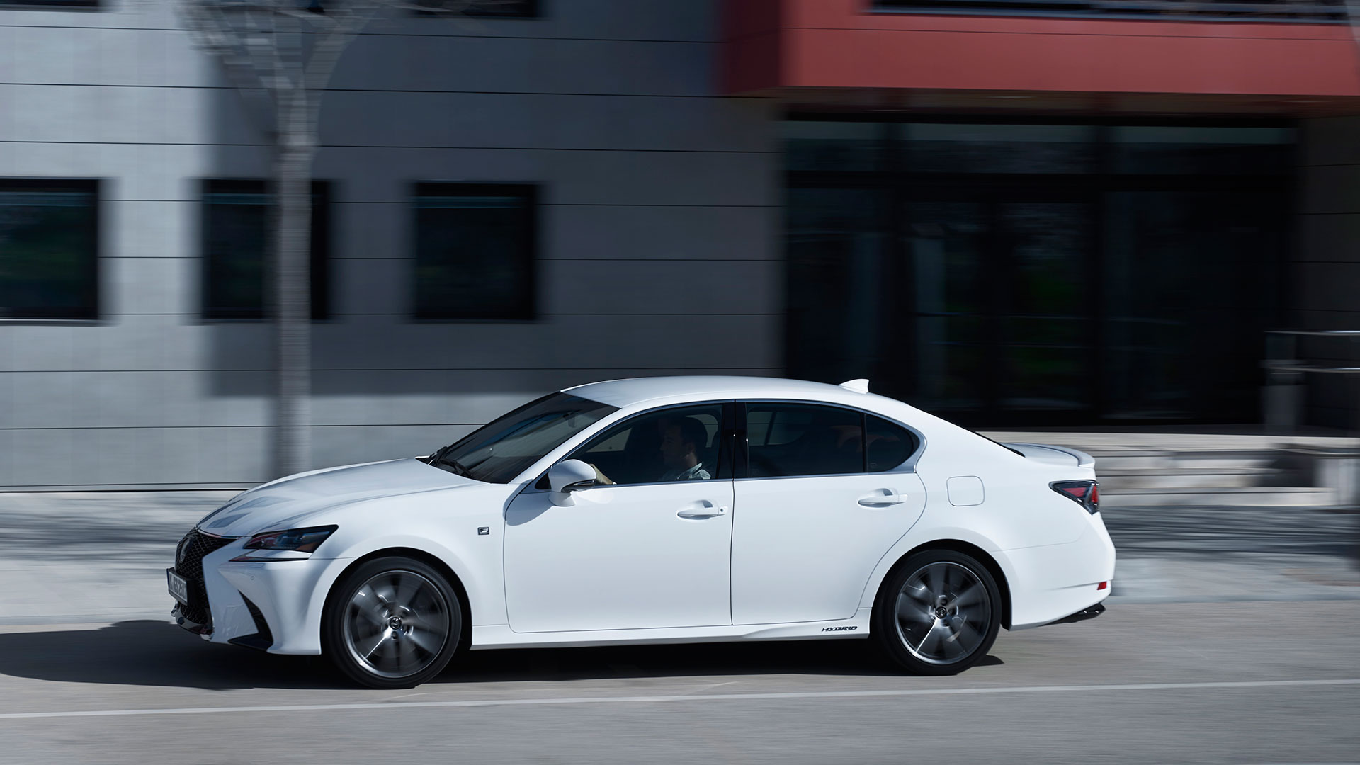 Lexus GS 450H eficiente hero asset