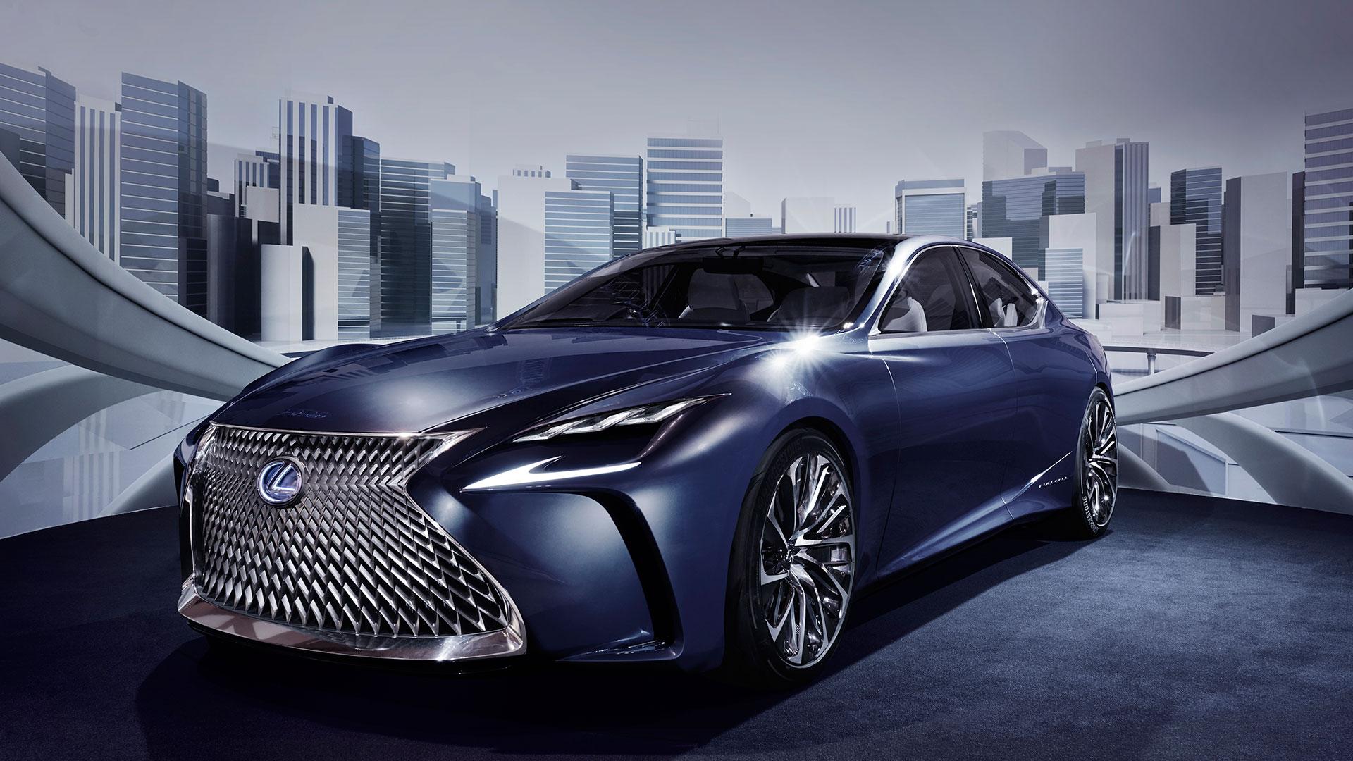 Lexus LF LC Concept hero asset