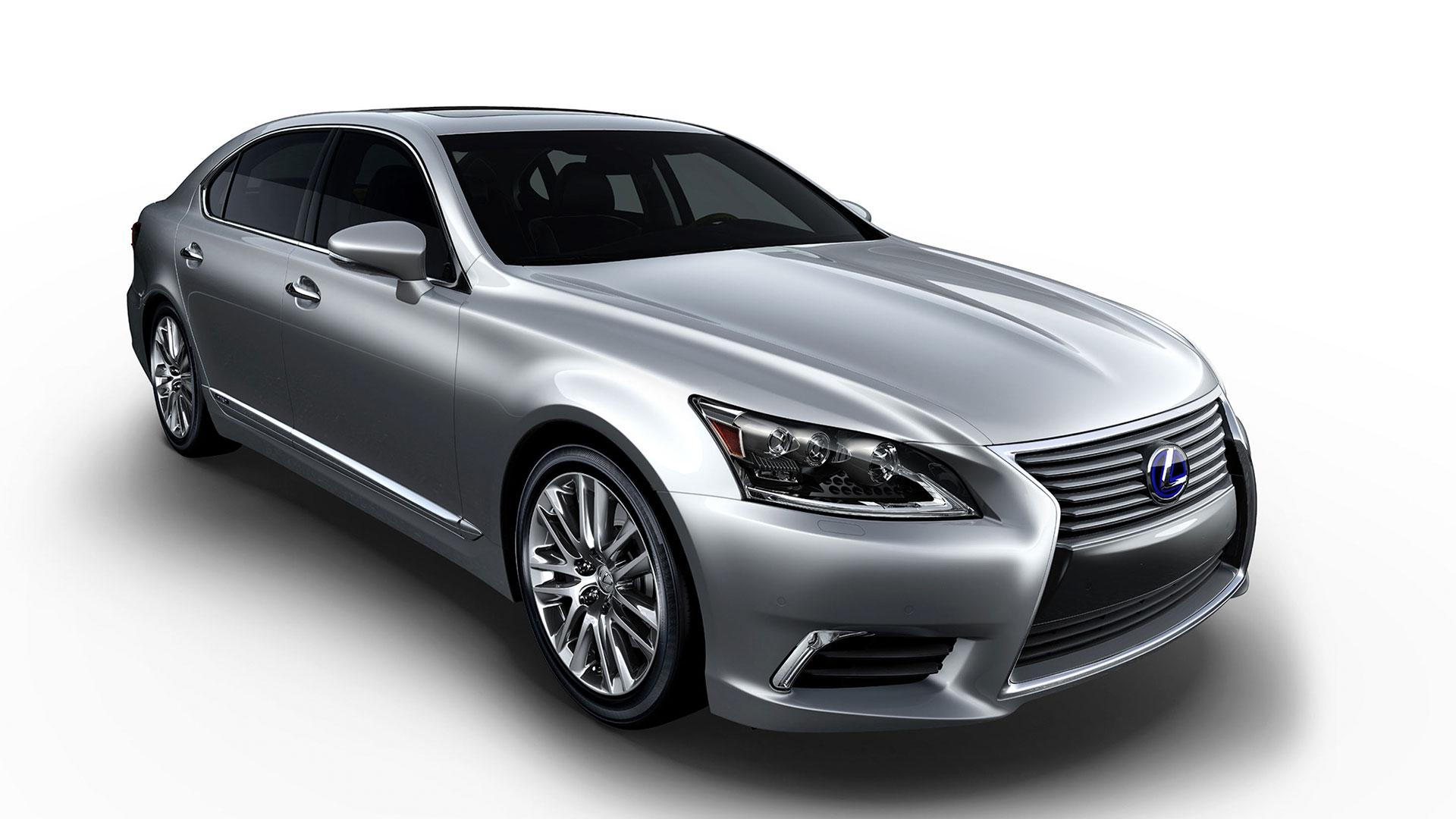 Nuevo Lexus LS 600h hero asset