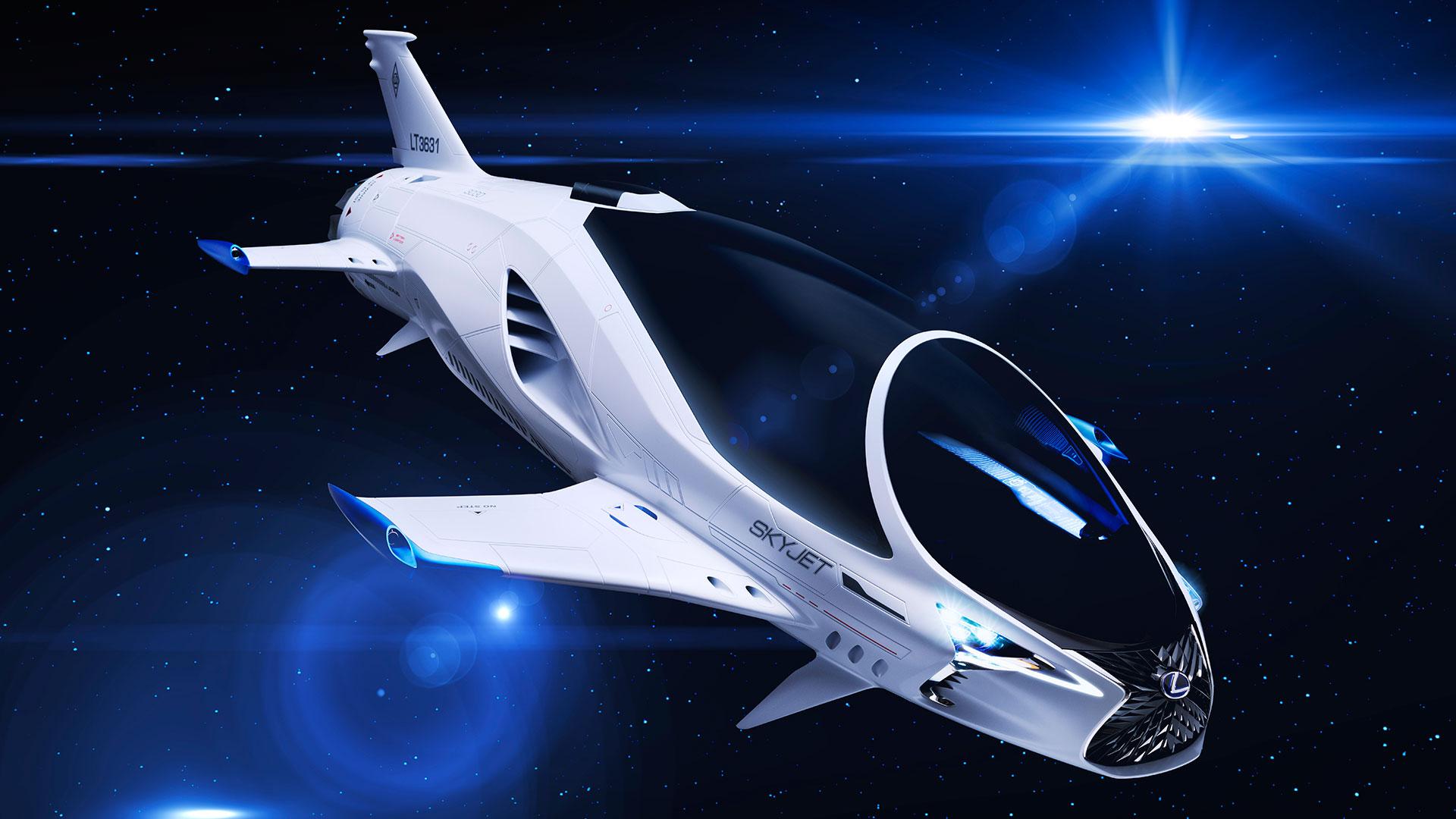 Lexus participa en el diseño de la nave espacial hero asset