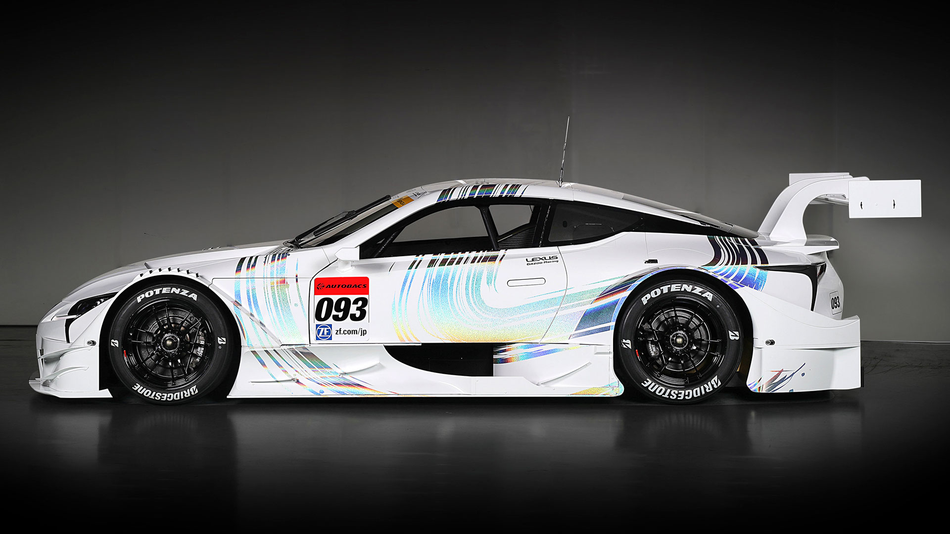 Nuevo vehículo de competición que participará en el Super GT 2017 hero asset