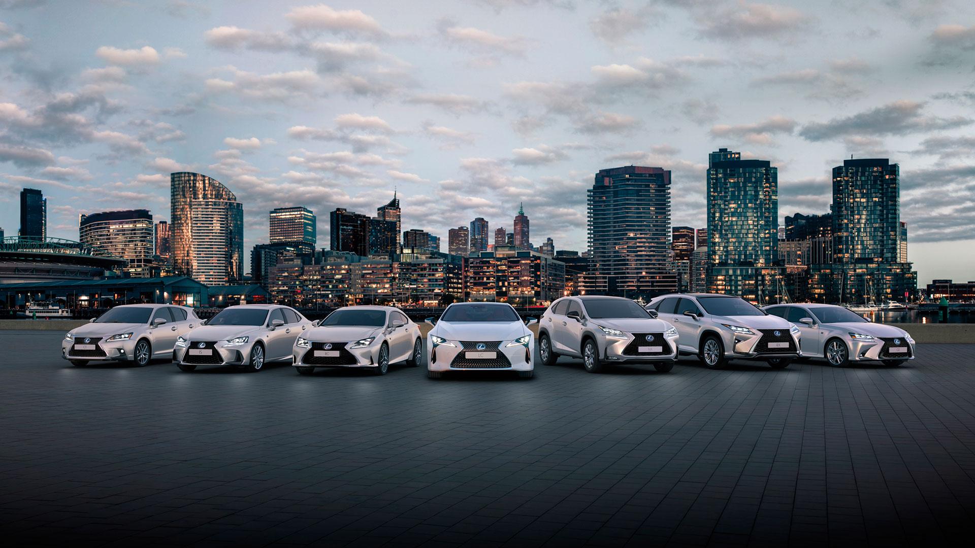 Calendario de ferias Lexus hero asset