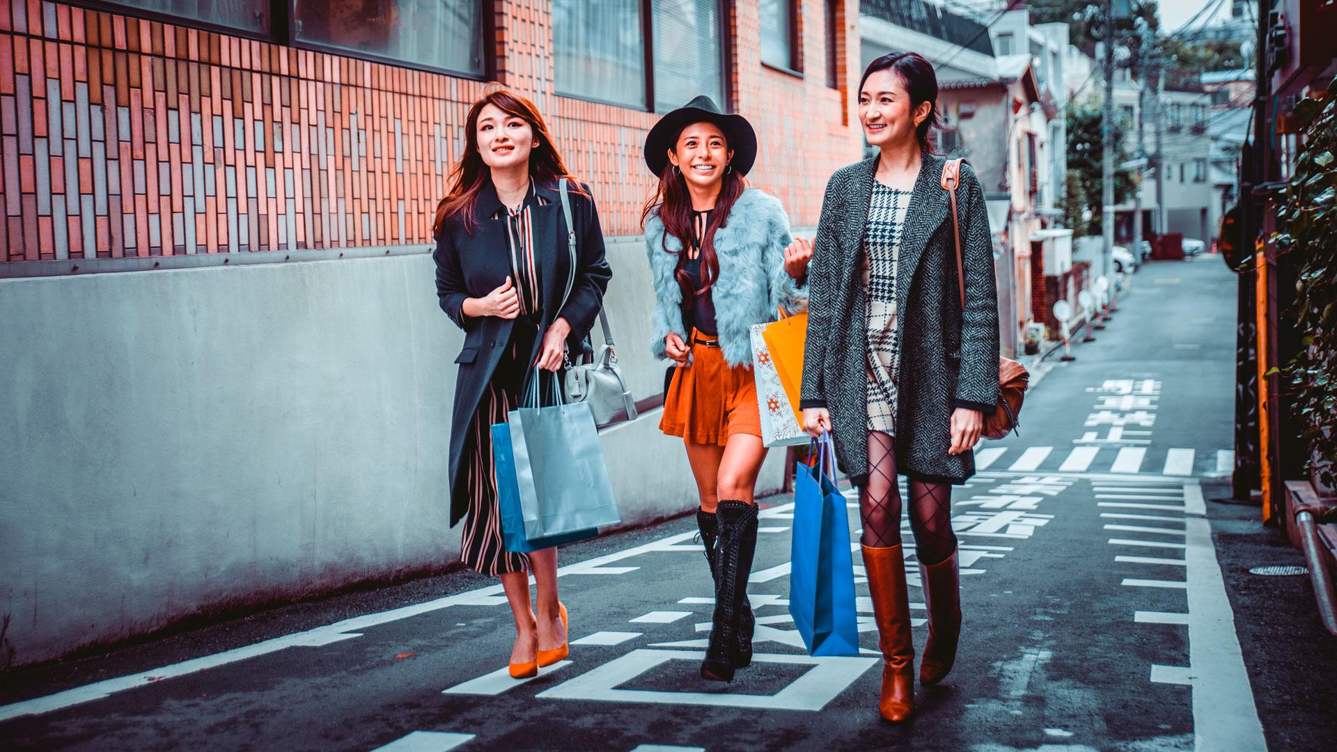 De compras por la ciudad de Tokio Ciudades Lexus