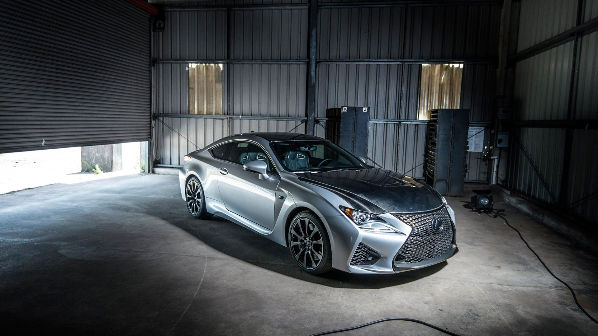 Lexus RC F hero asset
