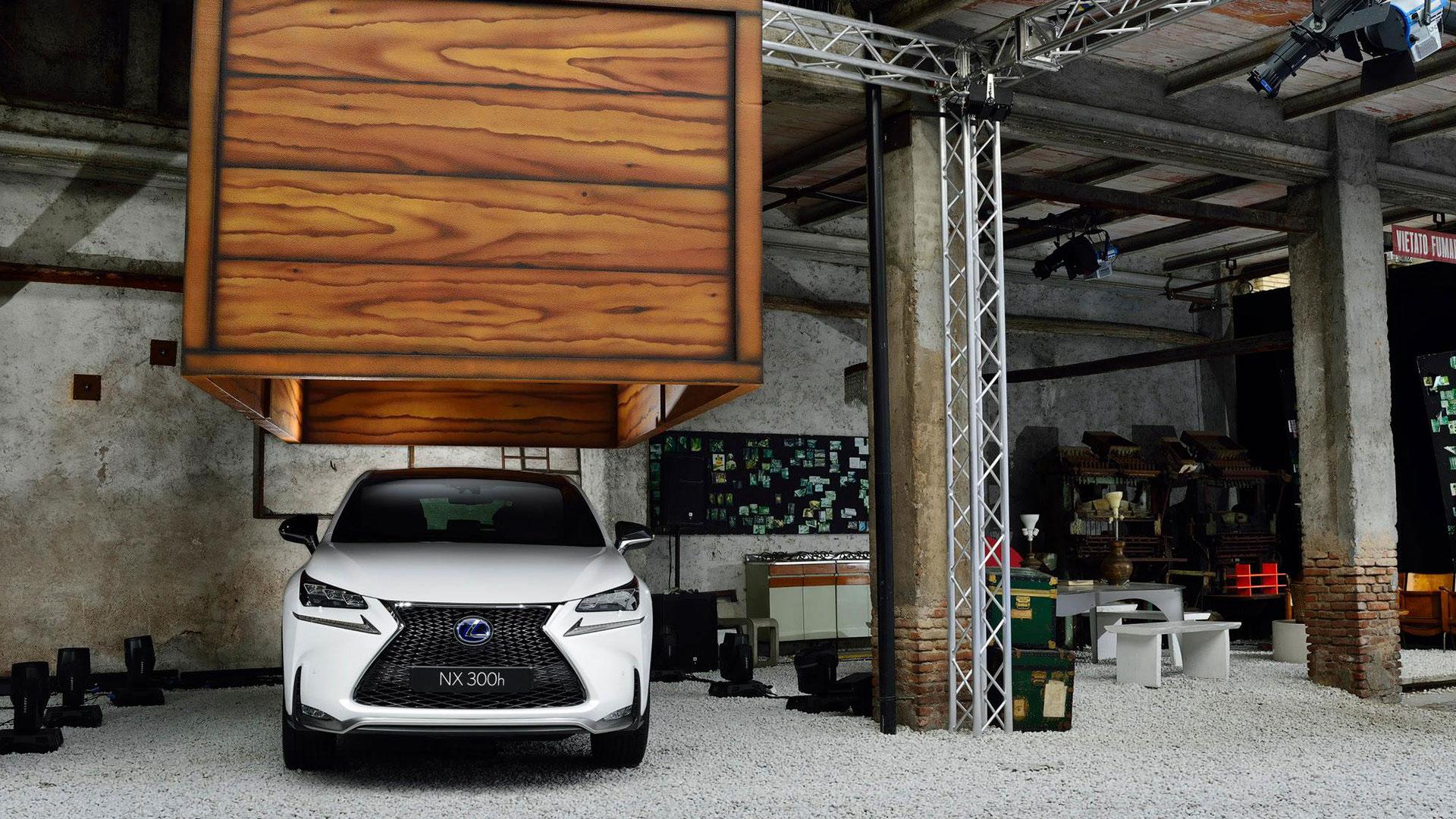 Top Gear spot NX 300h hero asset