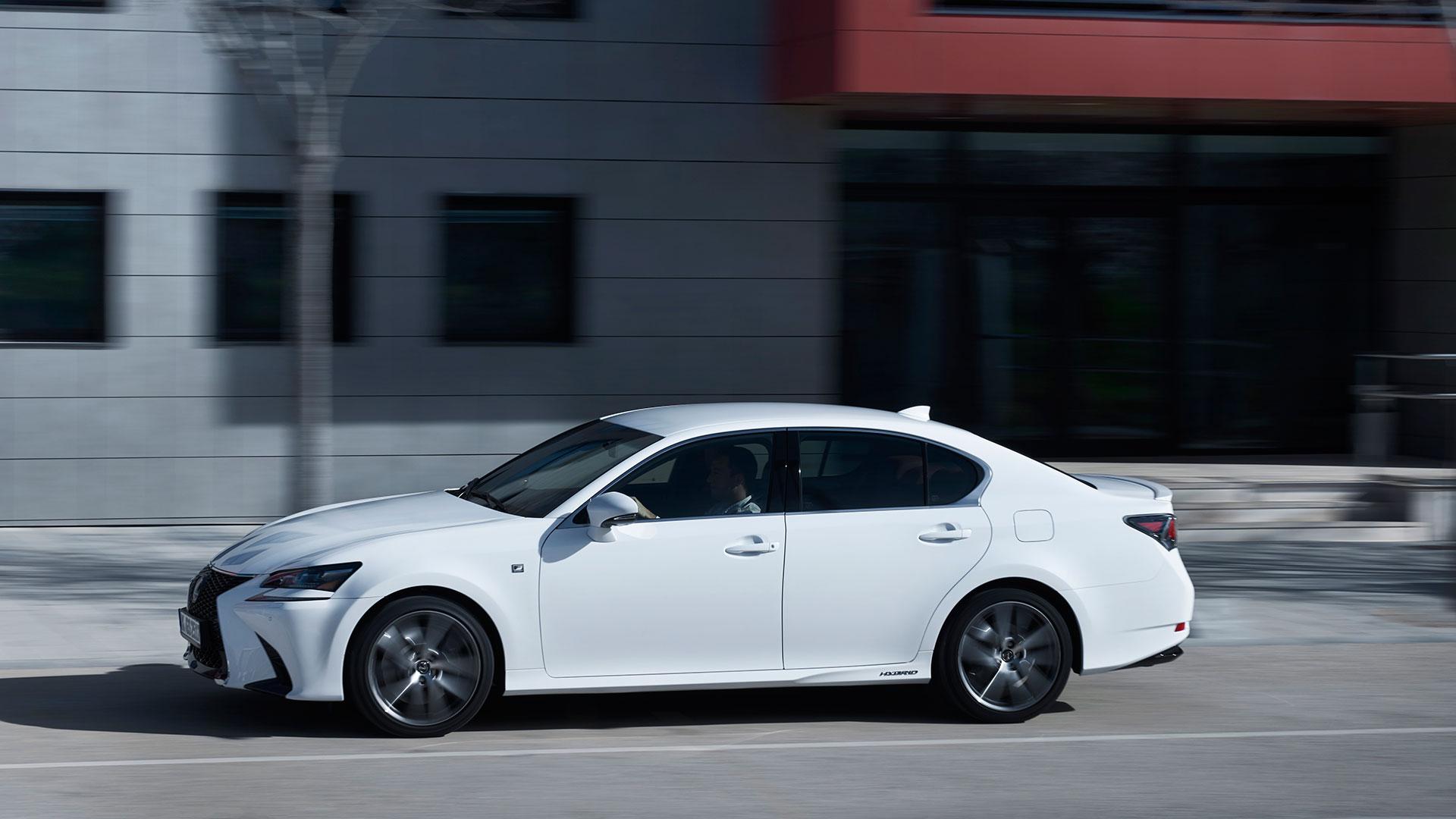 Lexus GS 450h asientos hero asset