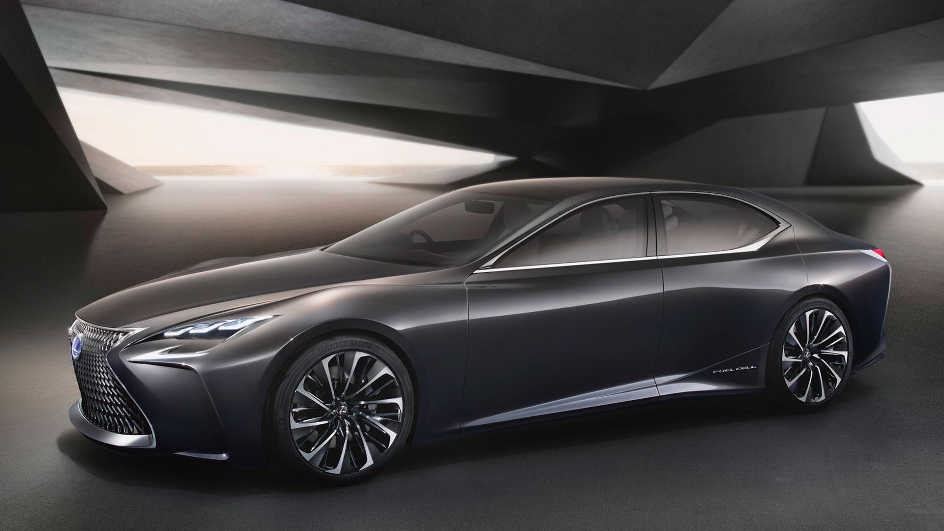 Lexus LF FC Concept Tokyo Motor Show hero asset