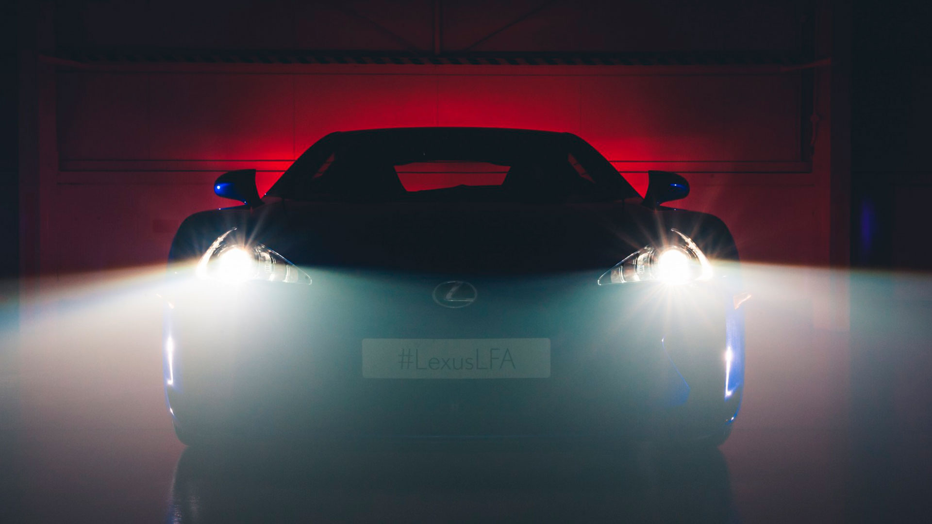 El Lexus LFA hero asset