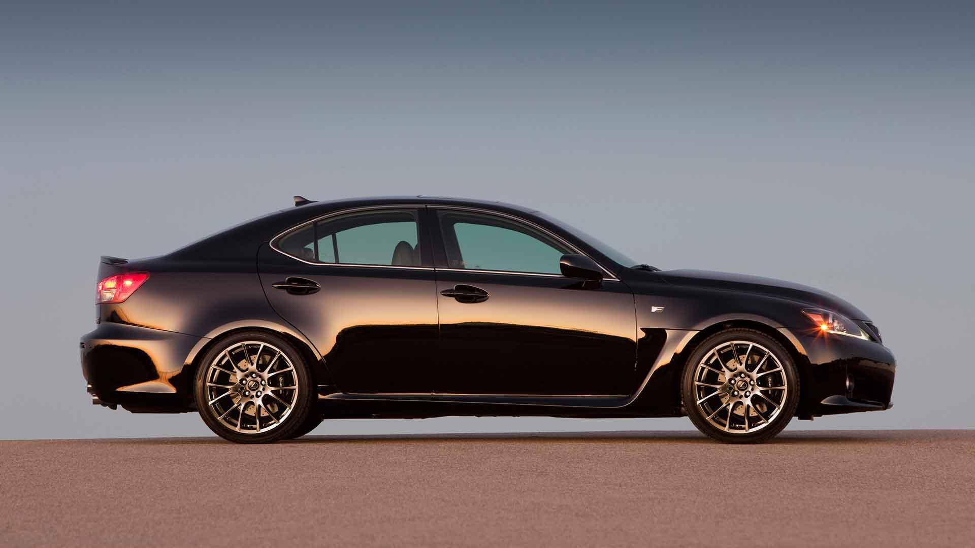 Lexus IS F hero asset