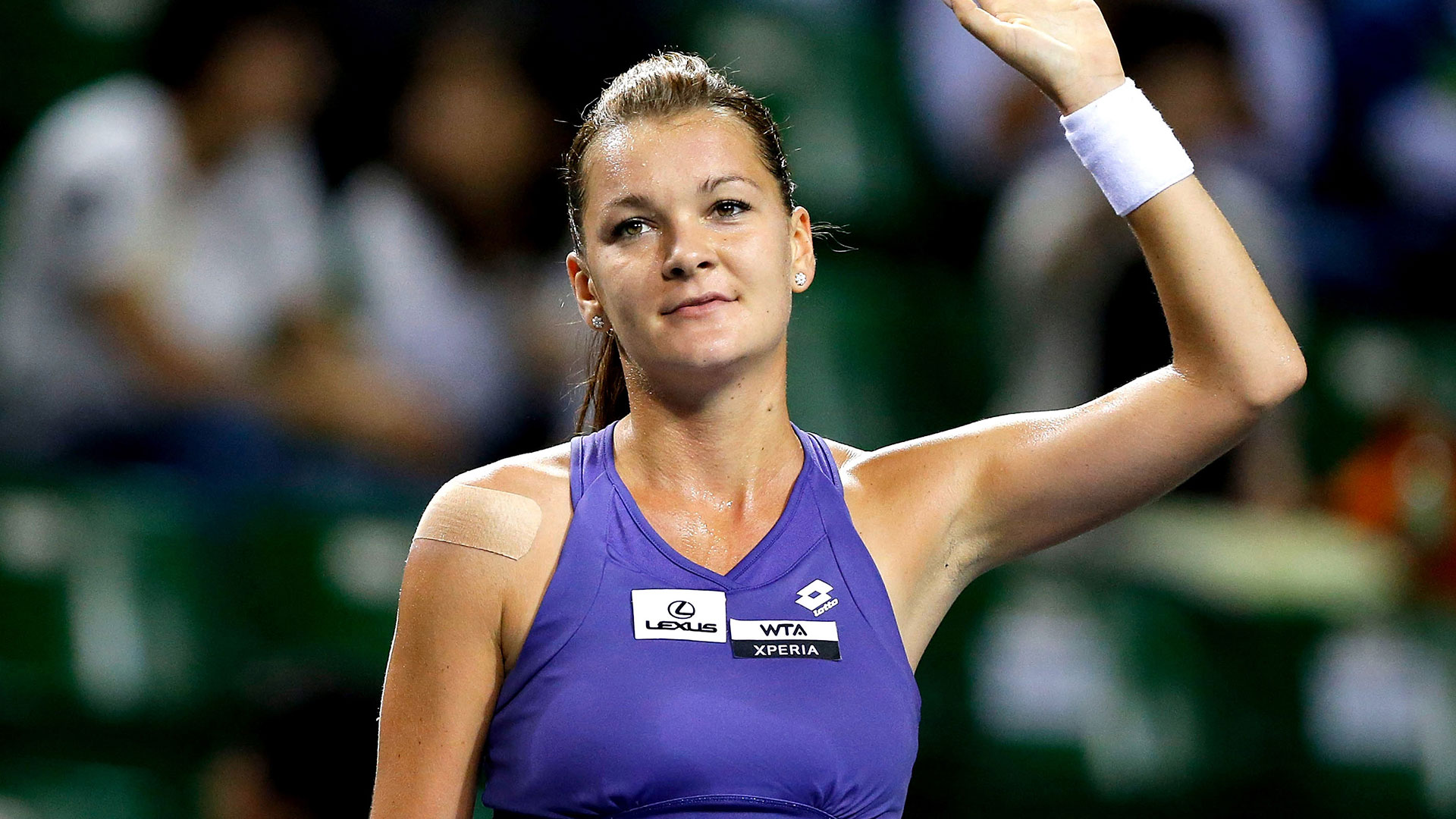 Agnieszka Radwanska hero asset