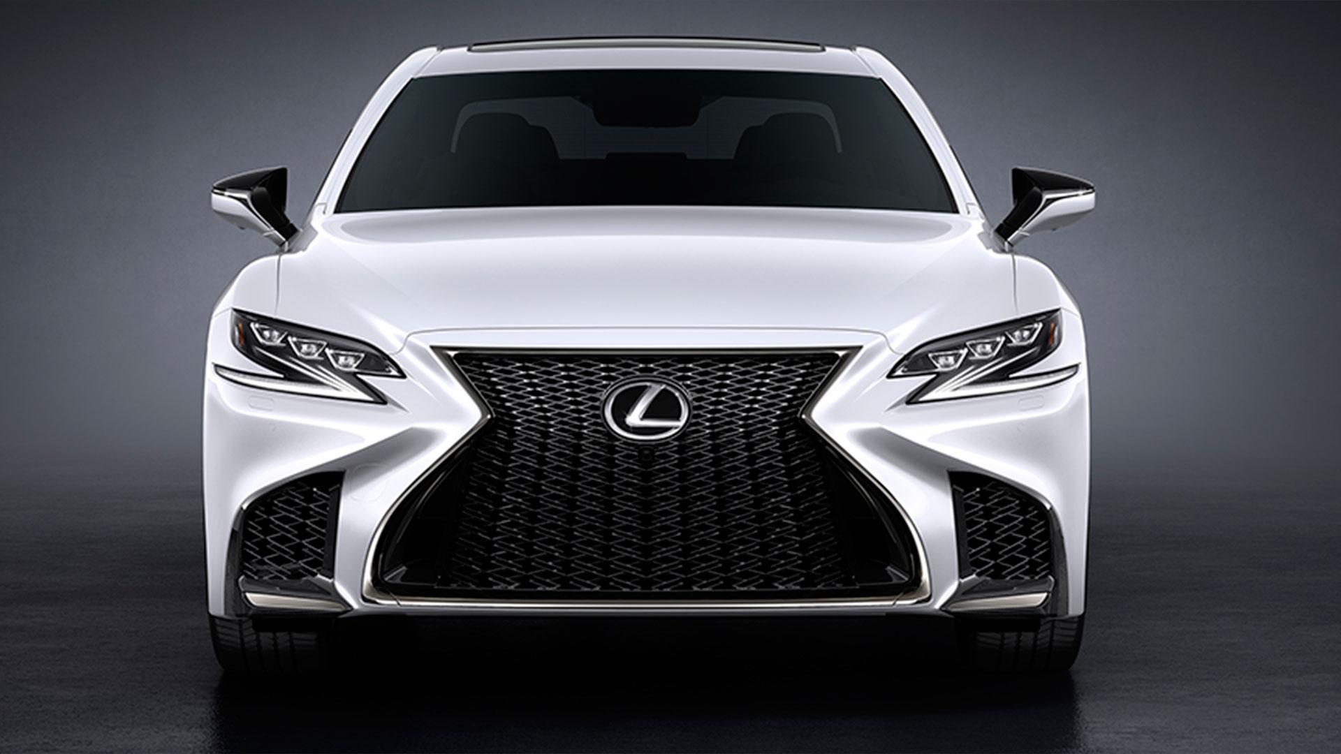 Lexus sport ls hero asset