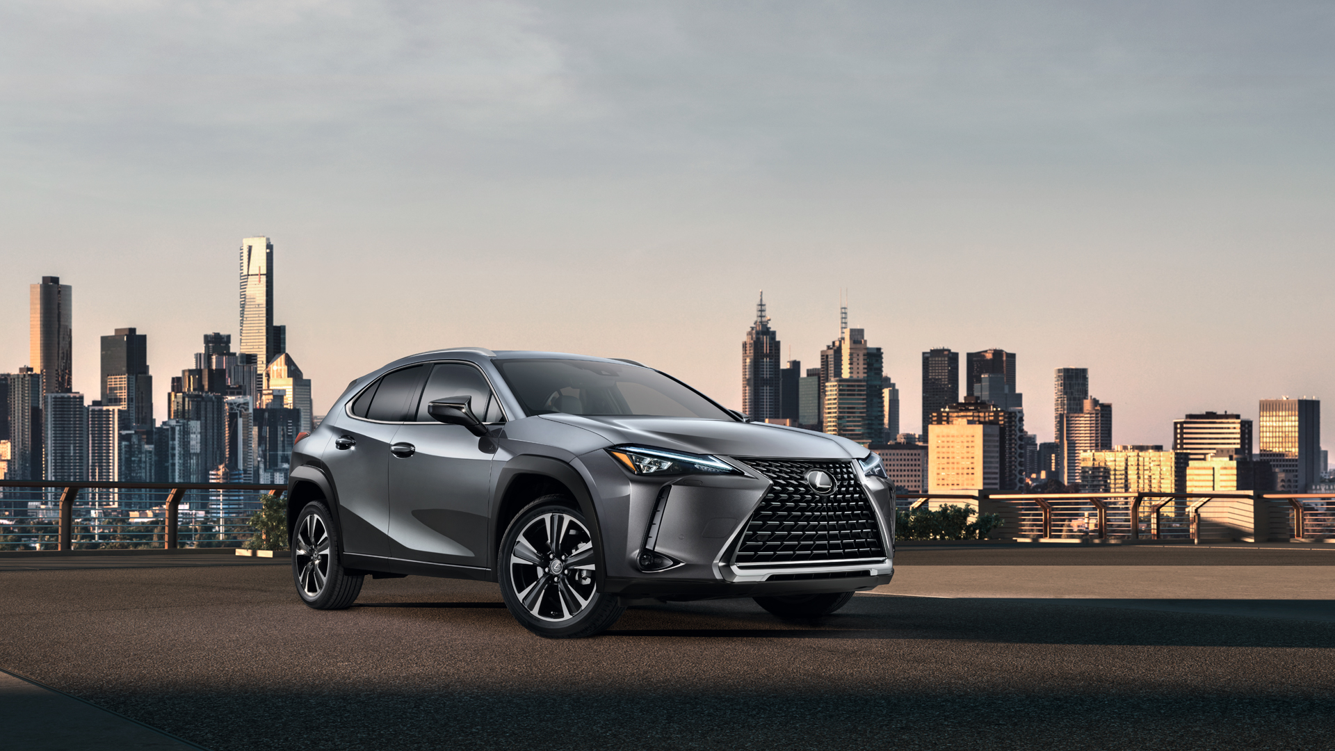 Presentación mundial del Lexus UX hero asset