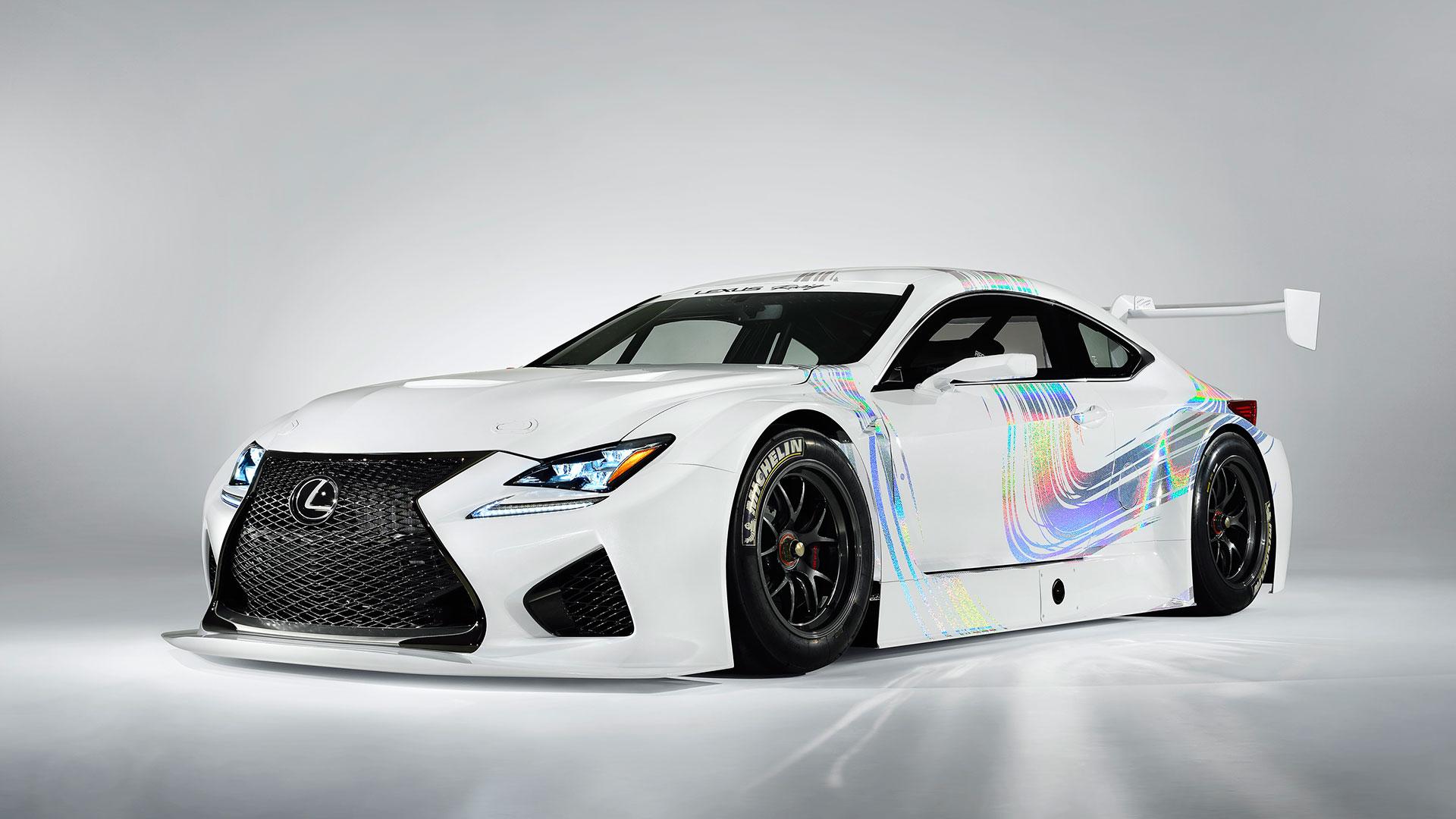 Lexus Racing hero asset
