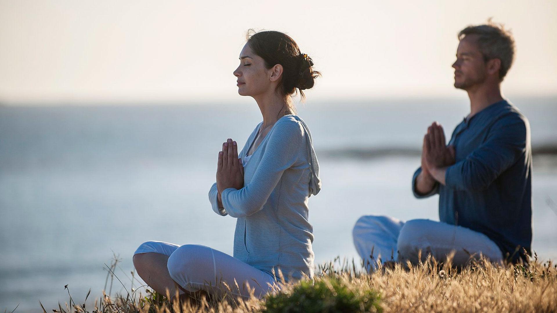 La meditación hero asset