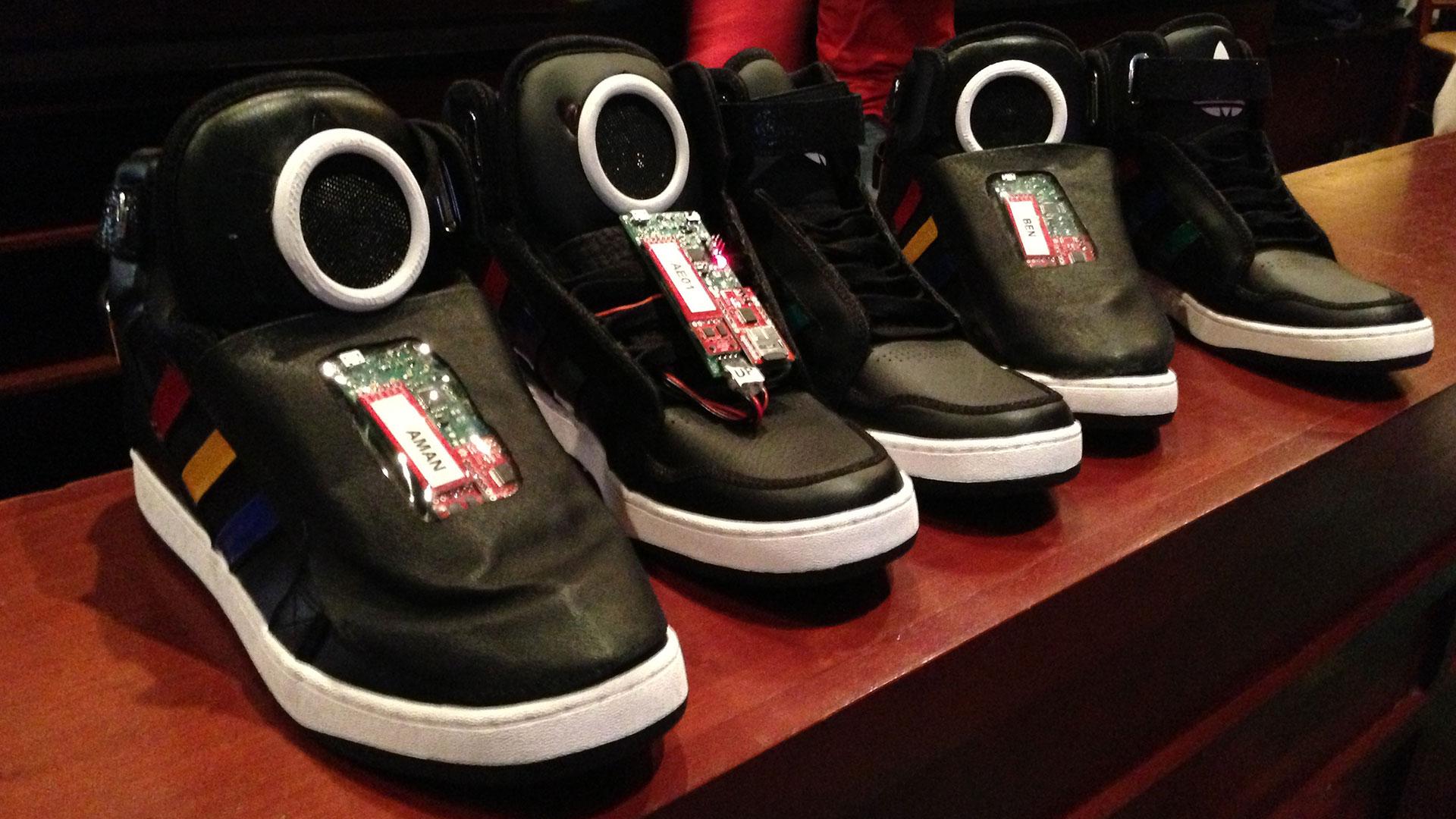 Talking Shoes Google hero asset