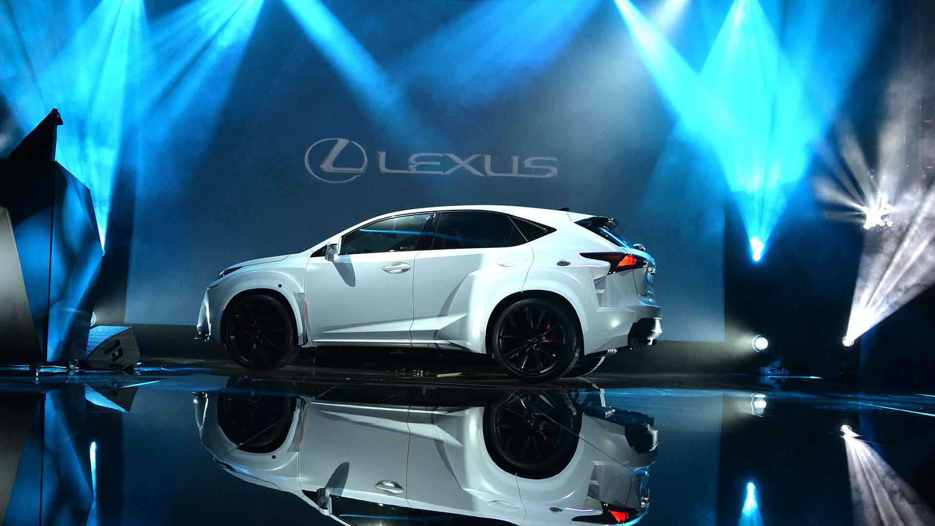 Nuevo Lexus NX 300h híbrido Will I Am hero asset