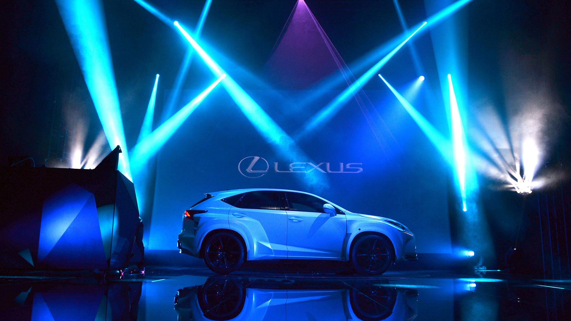 Will I Am y el Lexus NX hero asset