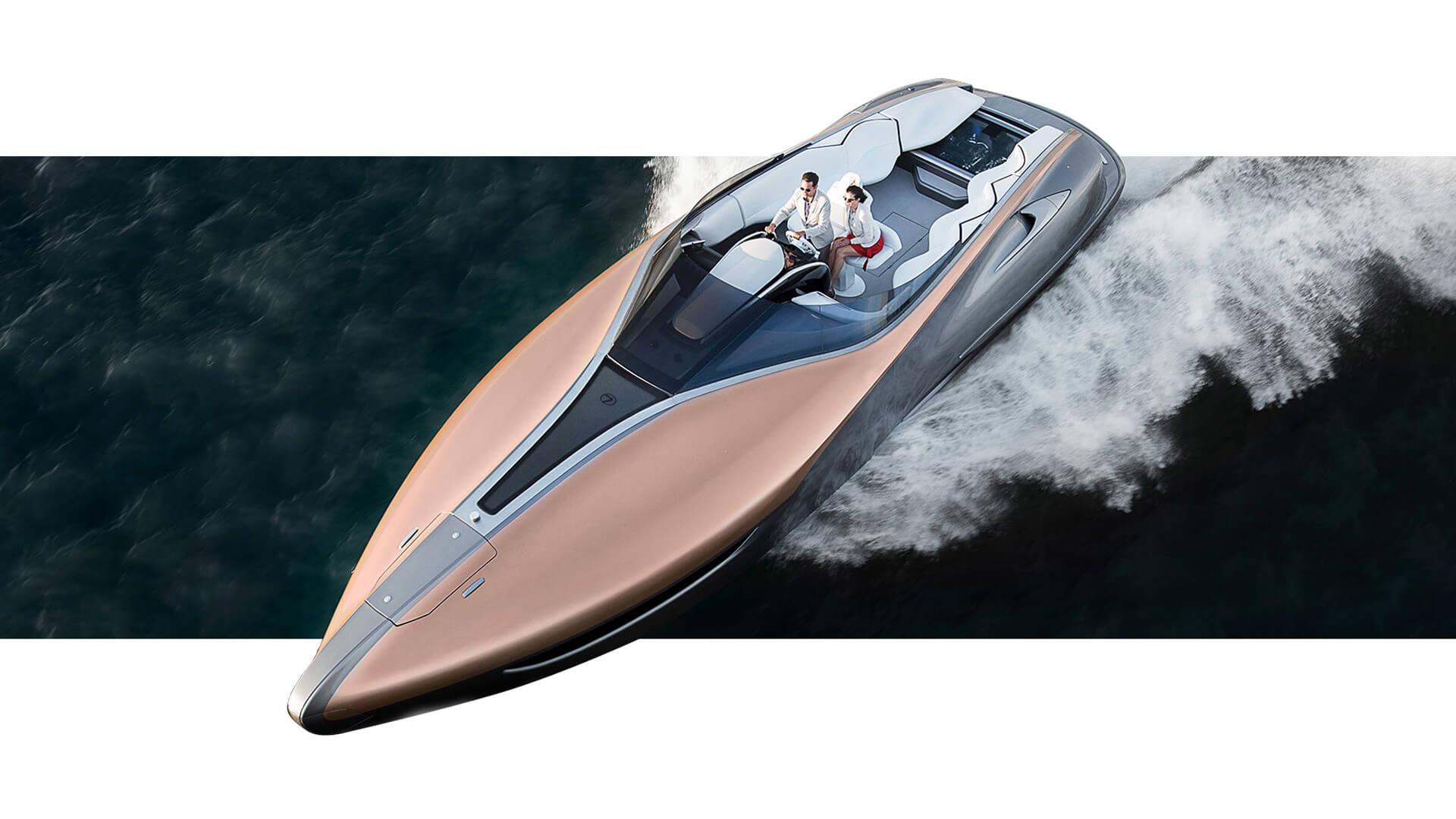 lexus reveals sports yacht concept lexus europe