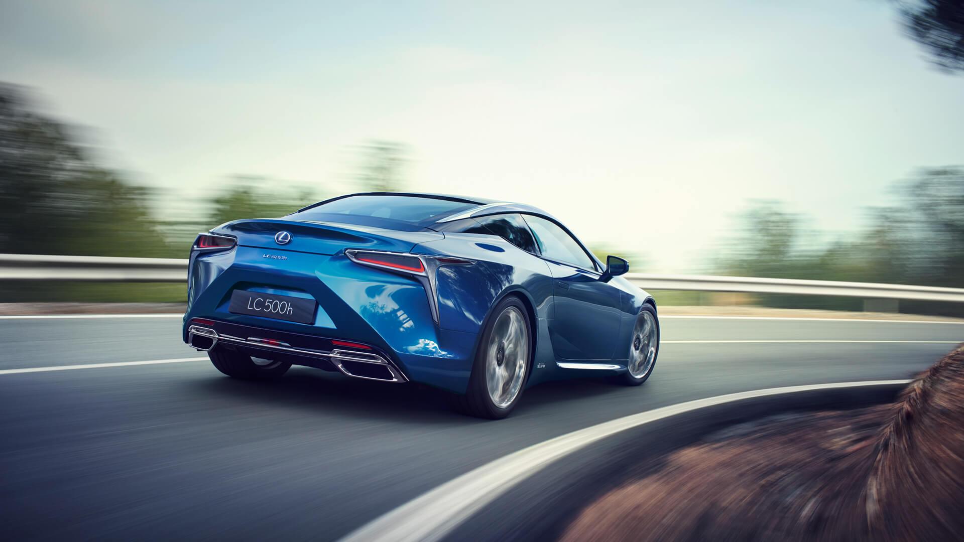 Découvrez Le Coupé De Sport Lc Performances Lexus Europe