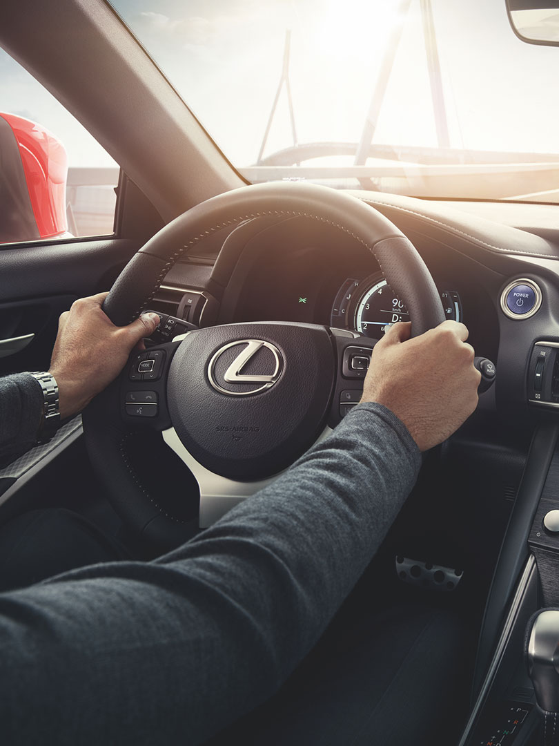 2017 lexus hybrid for business portrait driving performance